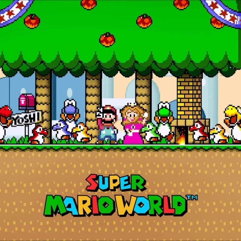 10 Top Super Mario World Wallpapers FULL HD 1920×1080 For PC Desktop 2018 free download 1 super mario world return to dinosaur land hd wallpapers 800x800