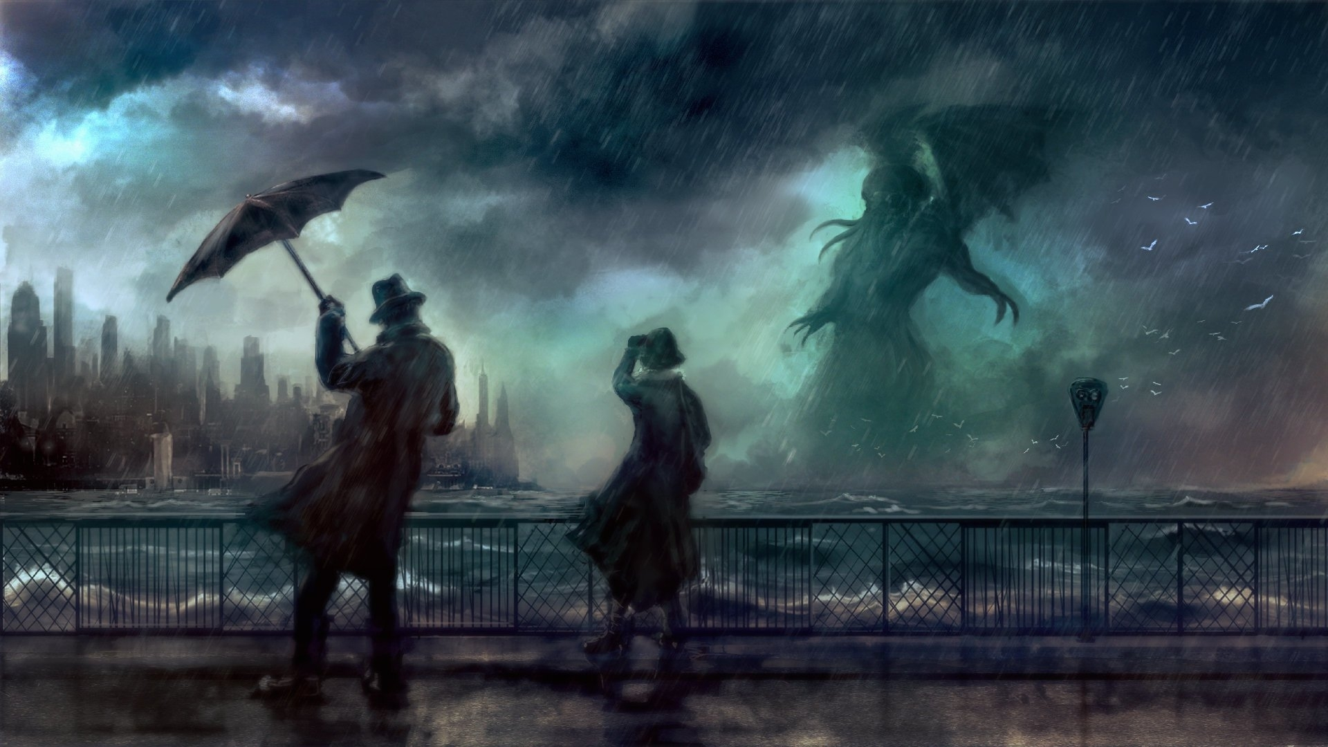 10 h. p. lovecraft hd wallpapers | background images - wallpaper abyss