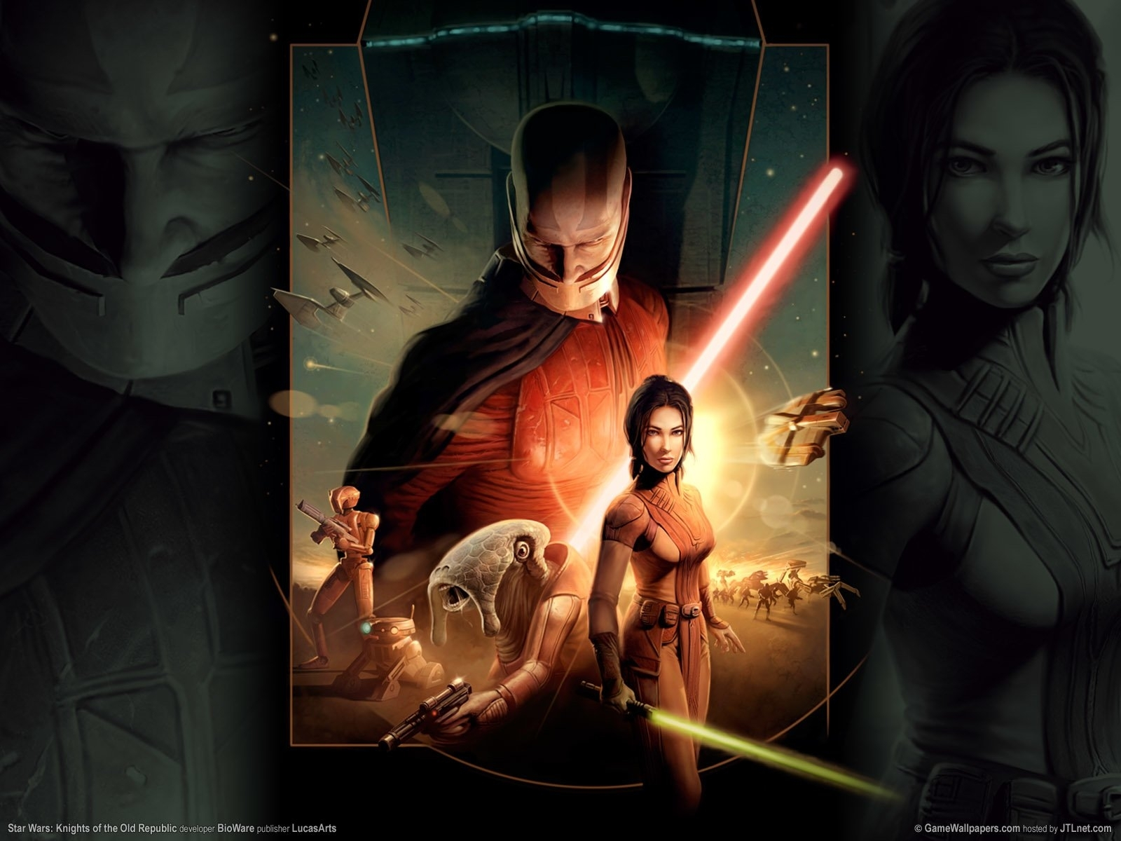 10 star wars: knights of the old republic hd wallpapers | background