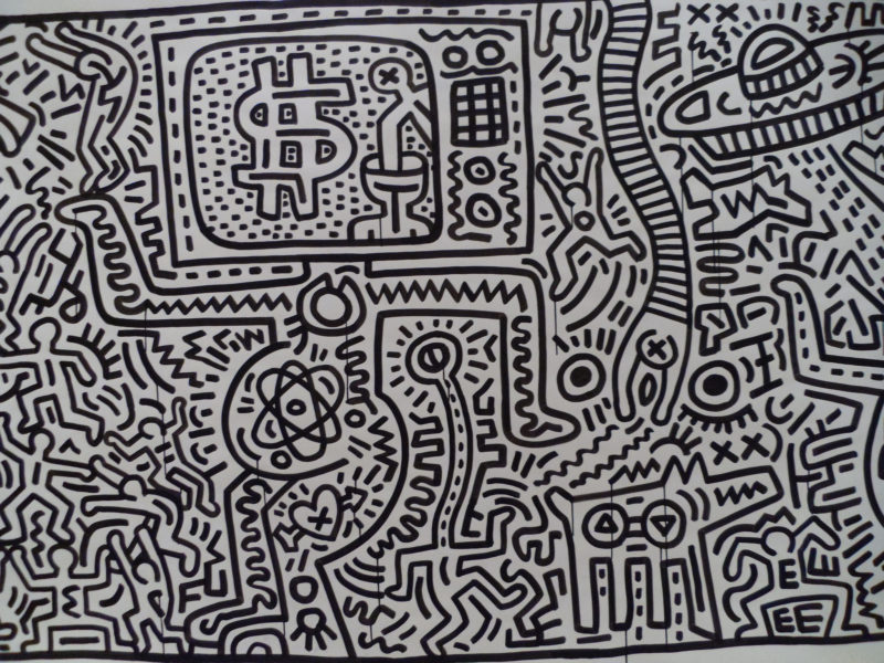 10 Best Keith Haring Black And White Wallpaper FULL HD 1920×1080 For PC Desktop 2018 free download 10 workskeith haring you should know 800x600