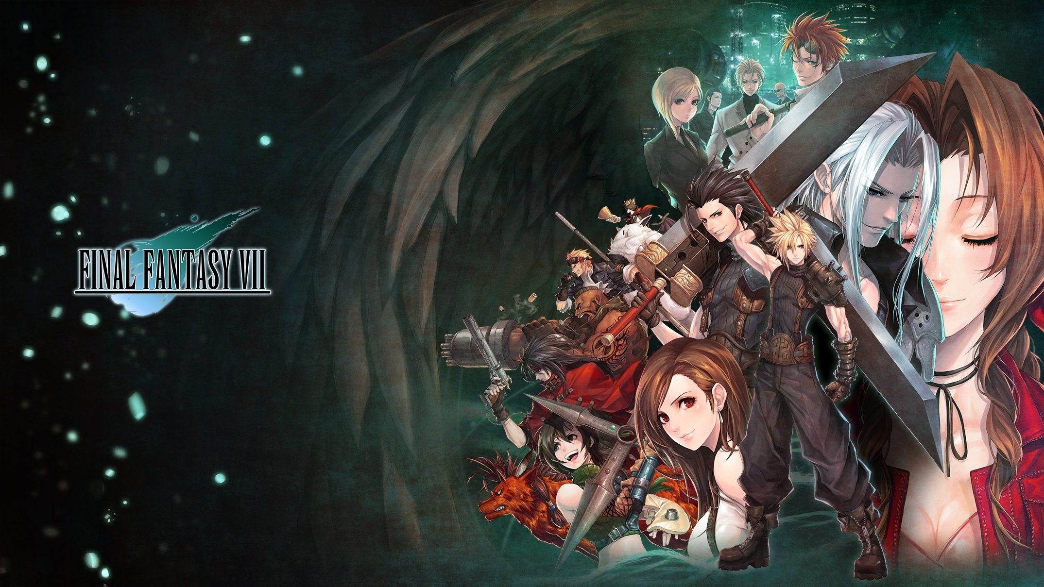 100 final fantasy vii hd wallpapers | background images - wallpaper