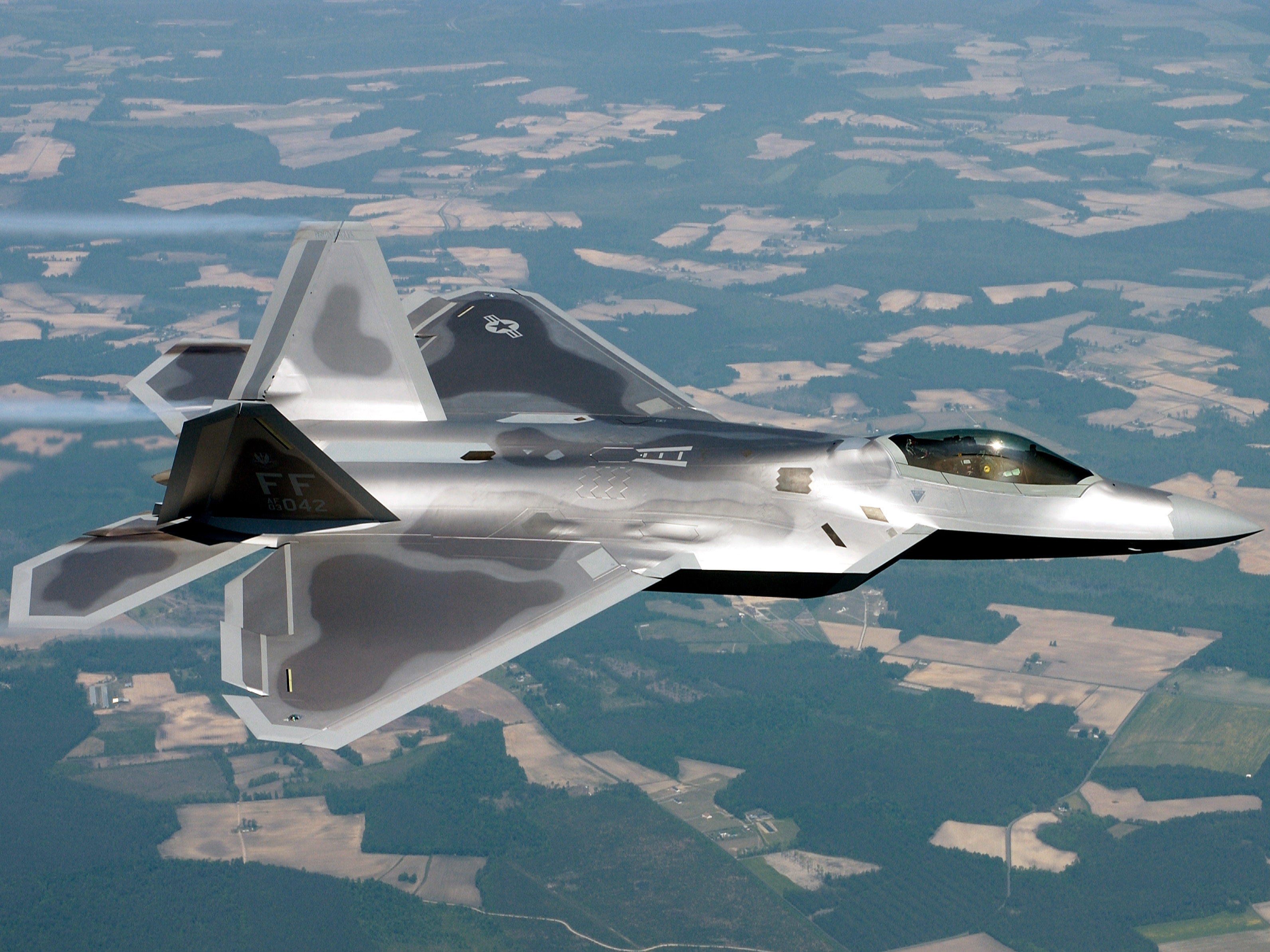 102 lockheed martin f-22 raptor hd wallpapers | background images