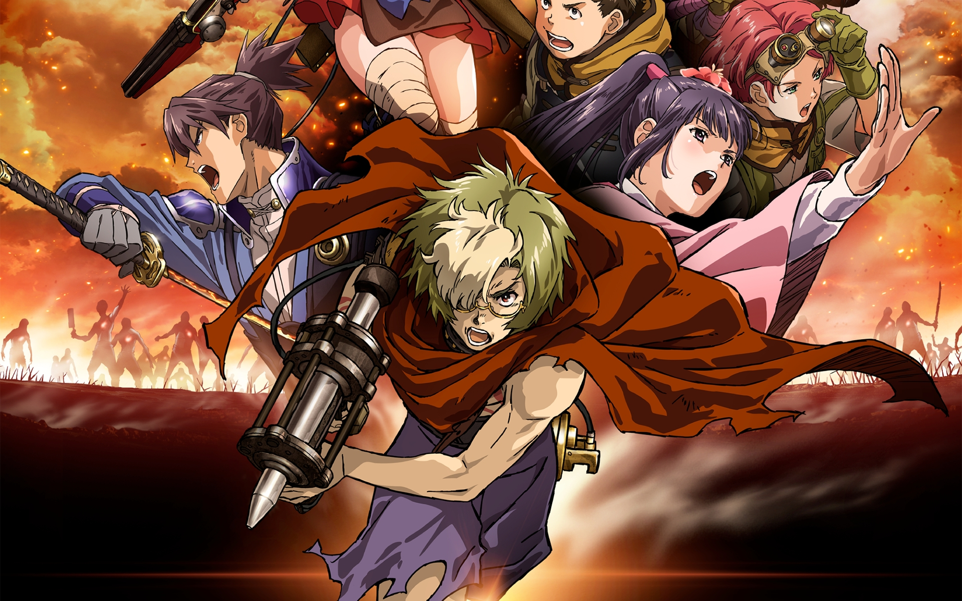 103 kabaneri of the iron fortress hd wallpapers | background images