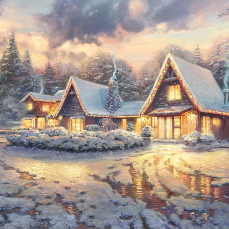 10 Most Popular Thomas Kinkade Winter Wallpaper FULL HD 1080p For PC Background 2018 free download 112 wallpapersthomas kinkade wallpaper abyss 3 800x800