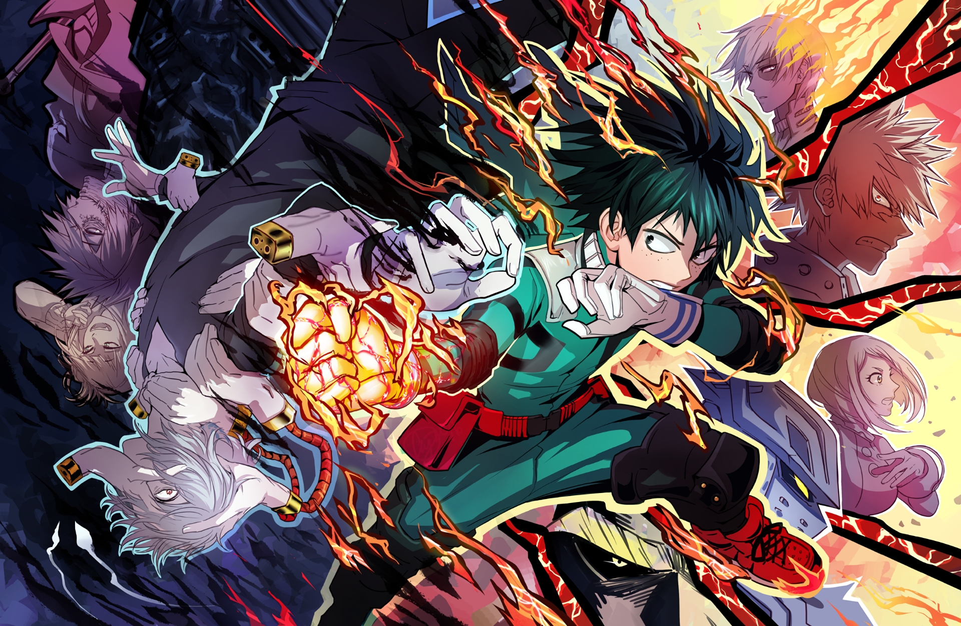 113 boku no hero academia hd wallpapers | background images