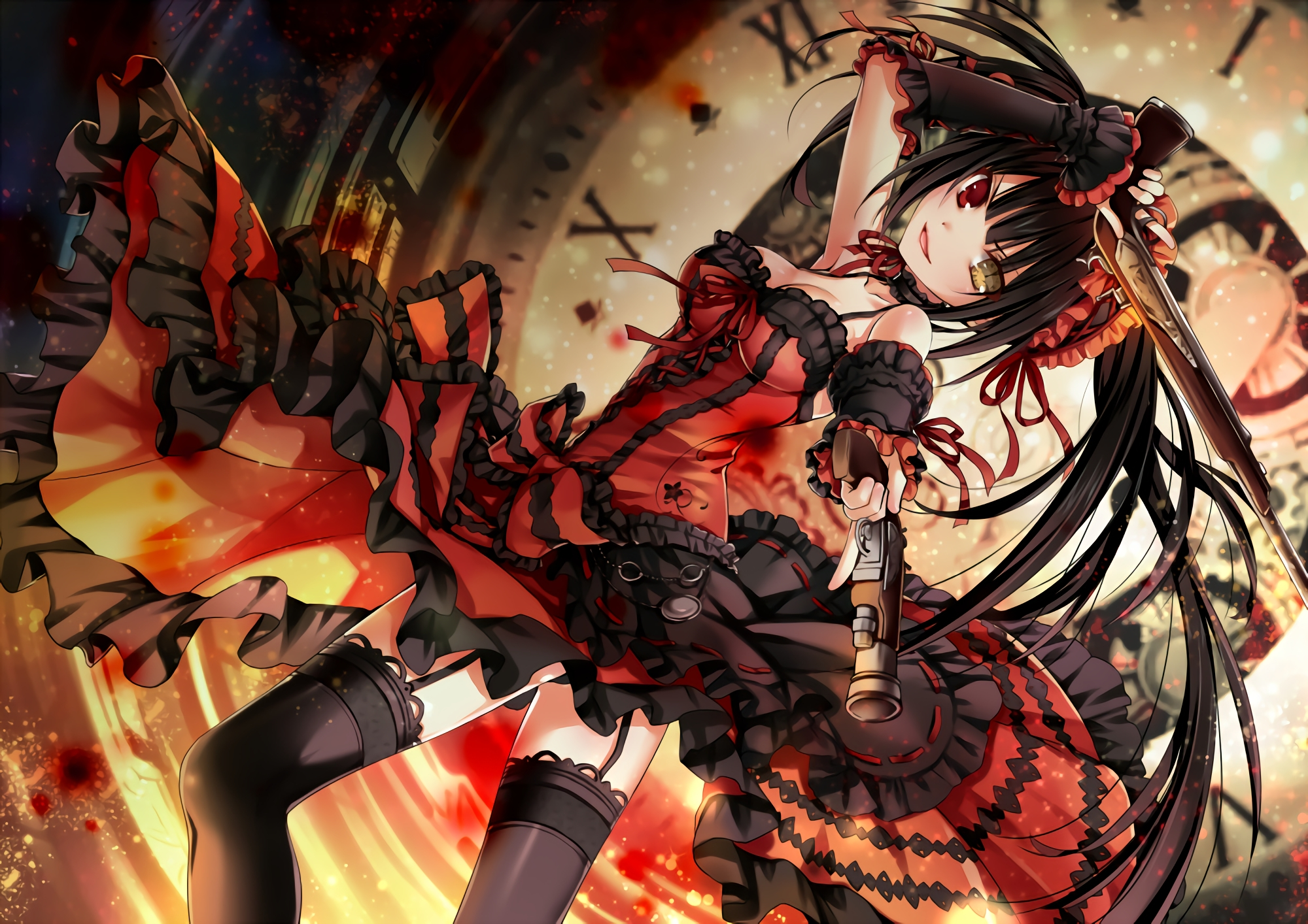 113 kurumi tokisaki hd wallpapers | background images - wallpaper abyss
