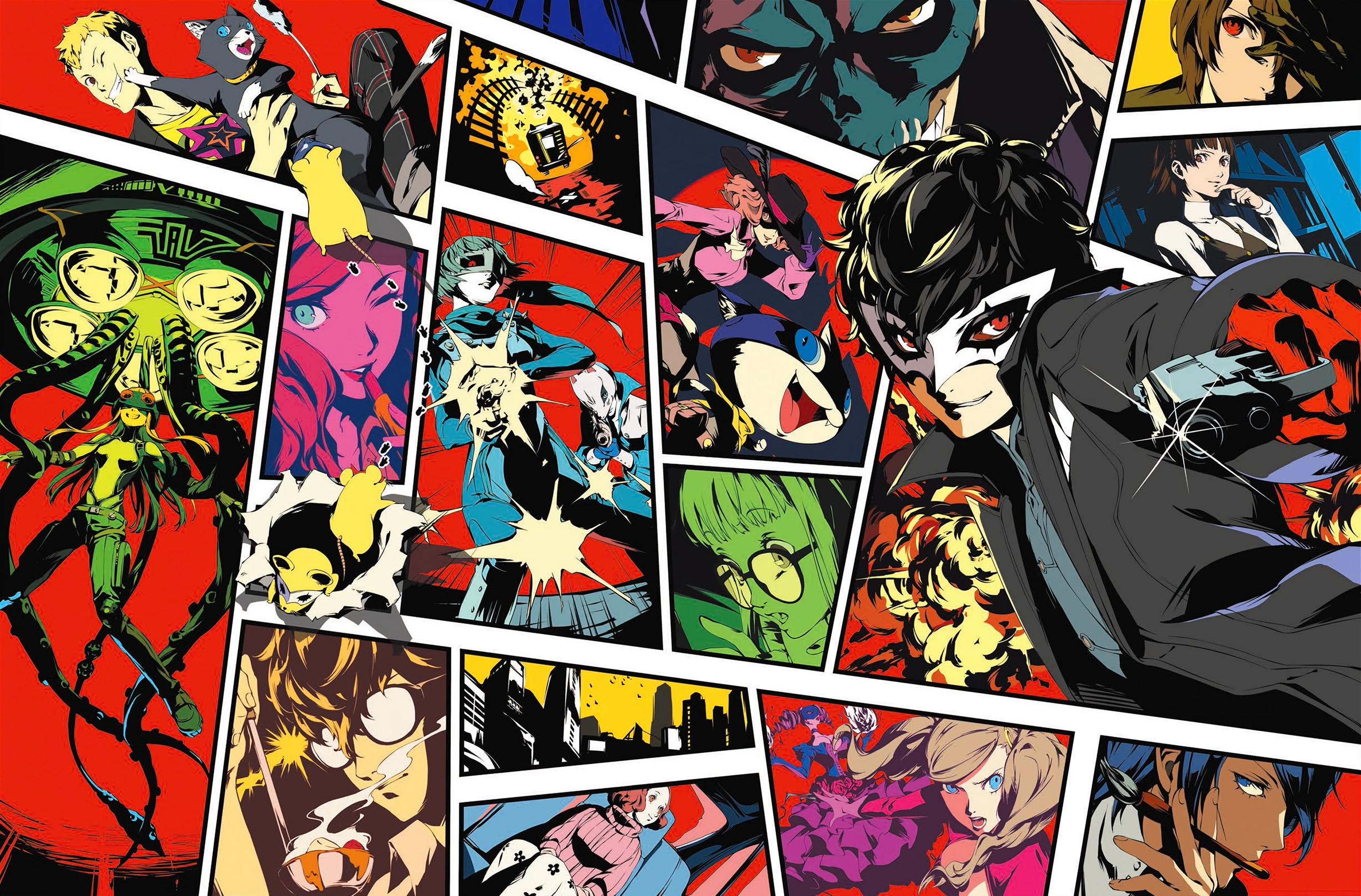 117 persona 5 hd wallpapers | background images - wallpaper abyss