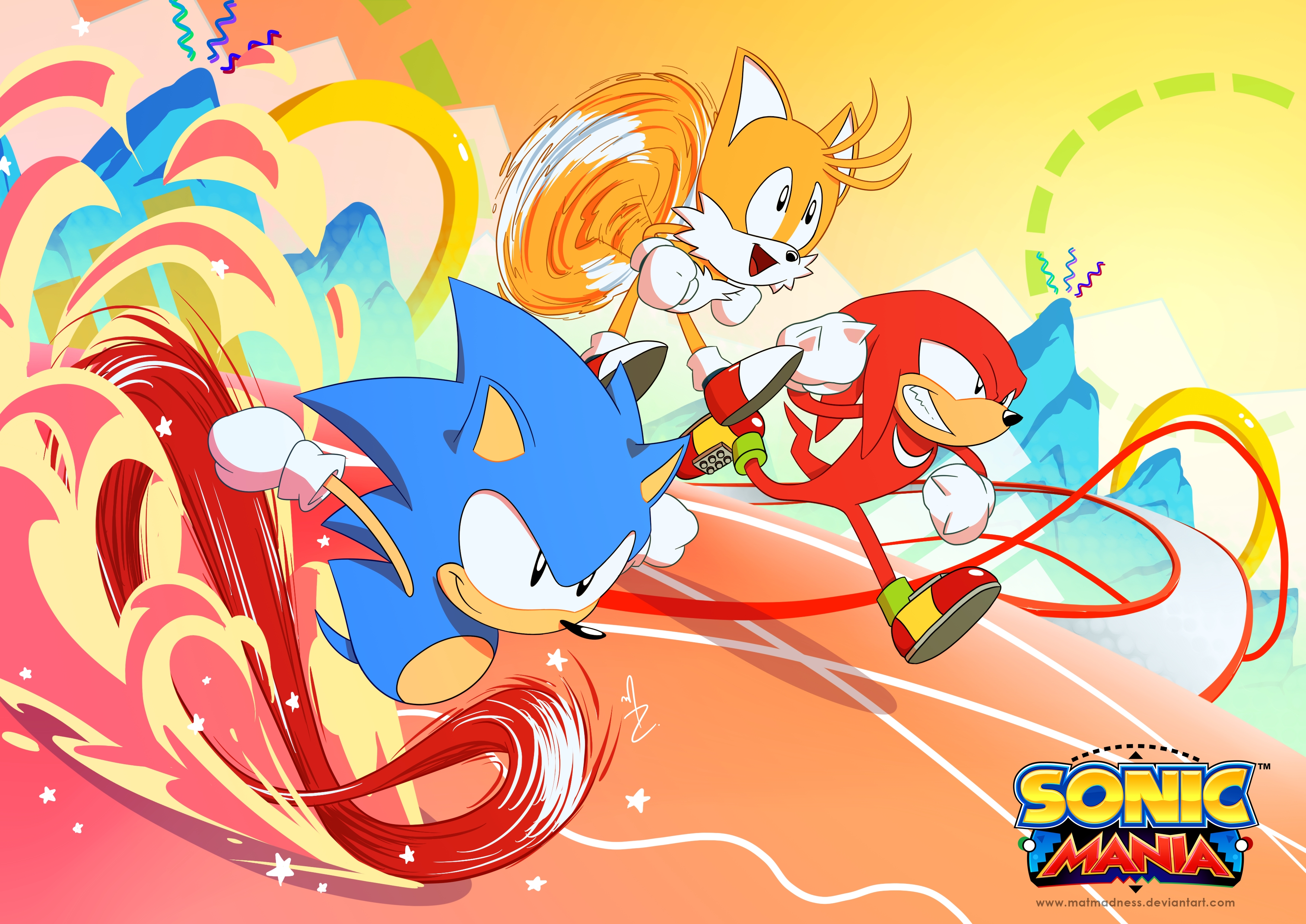 10 Top Sonic Mania Wallpaper 1080P FULL HD 1080p For PC ...