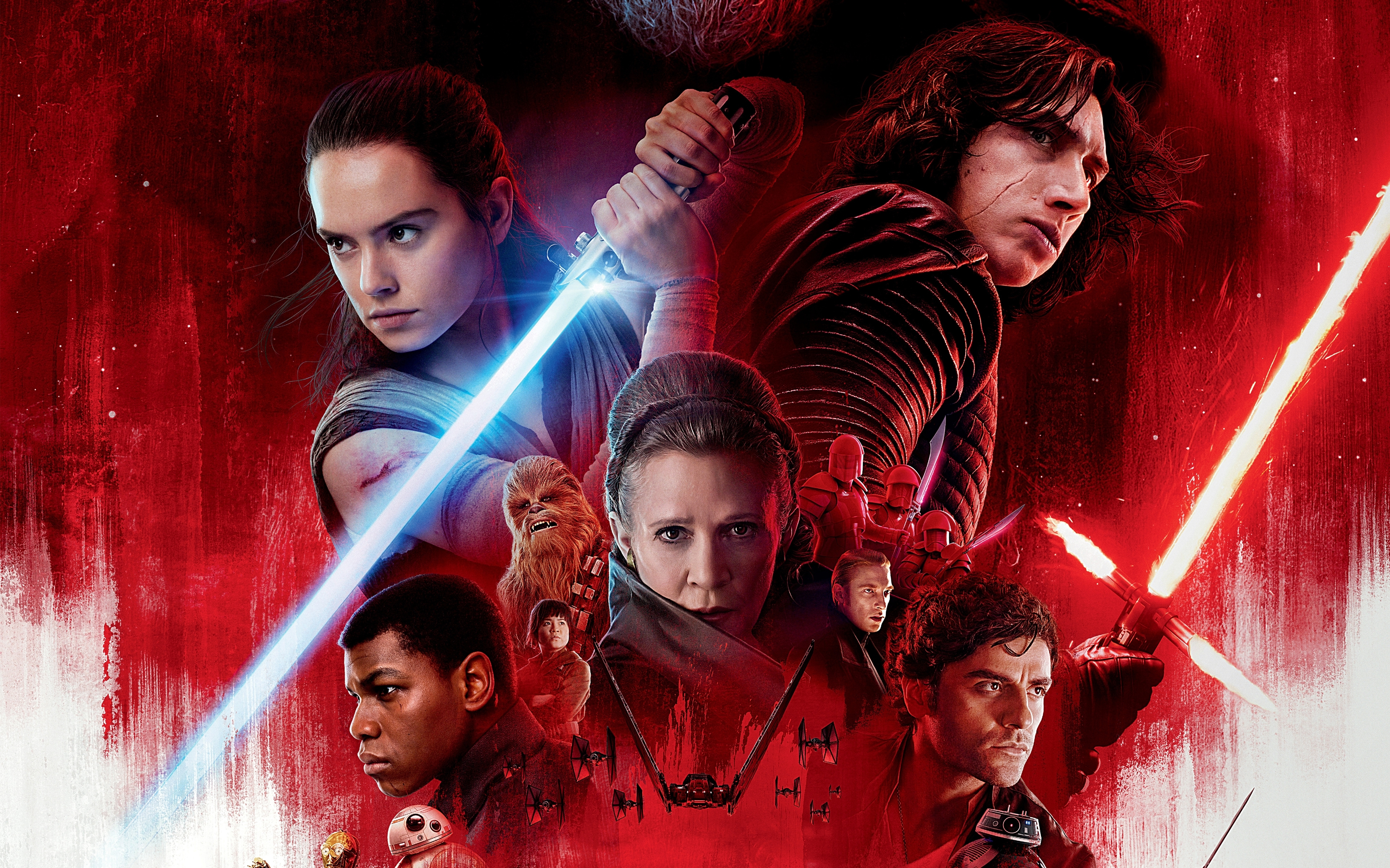 120 star wars: the last jedi hd wallpapers | background images