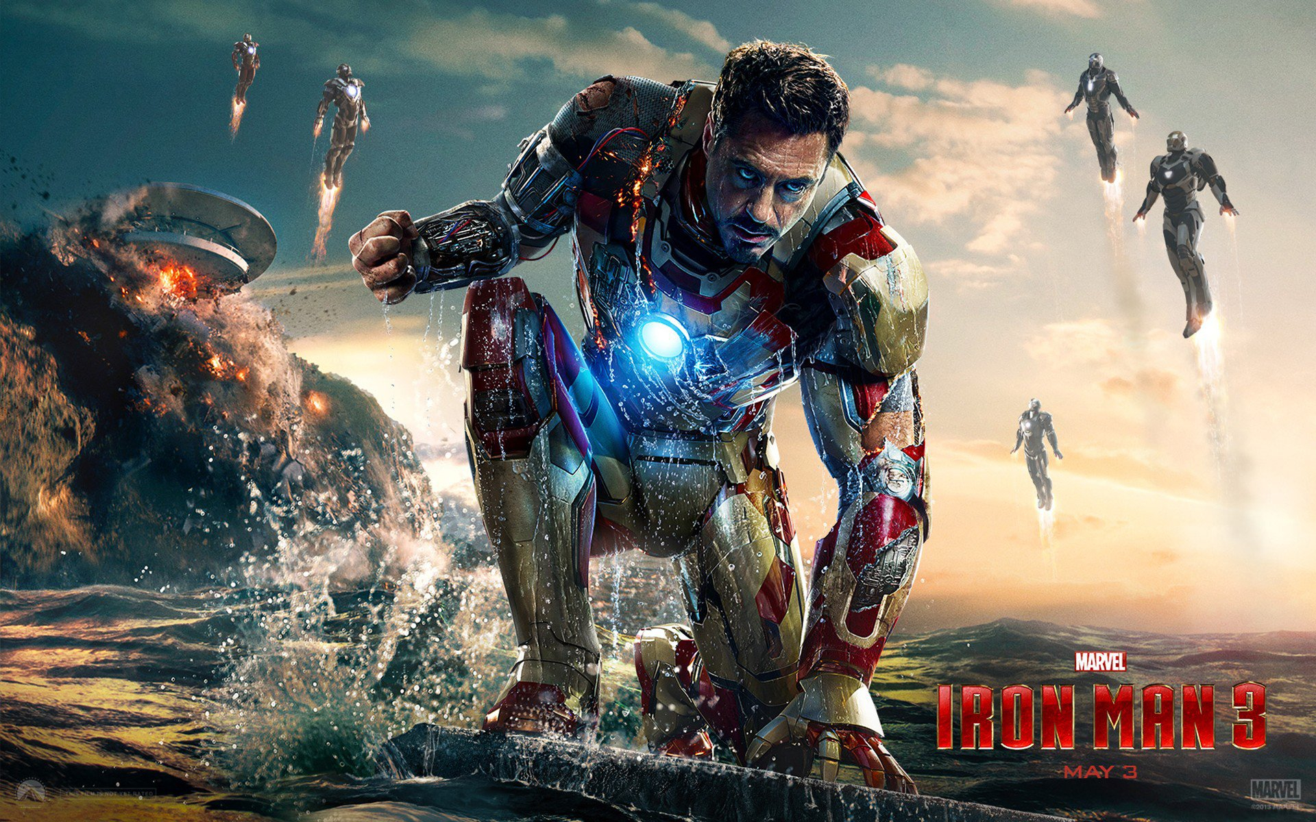 122 iron man 3 hd wallpapers | background images - wallpaper abyss