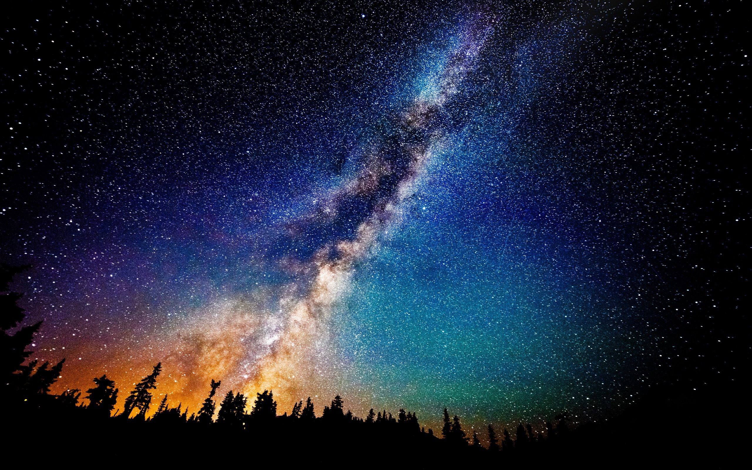 128 milky way hd wallpapers | background images - wallpaper abyss