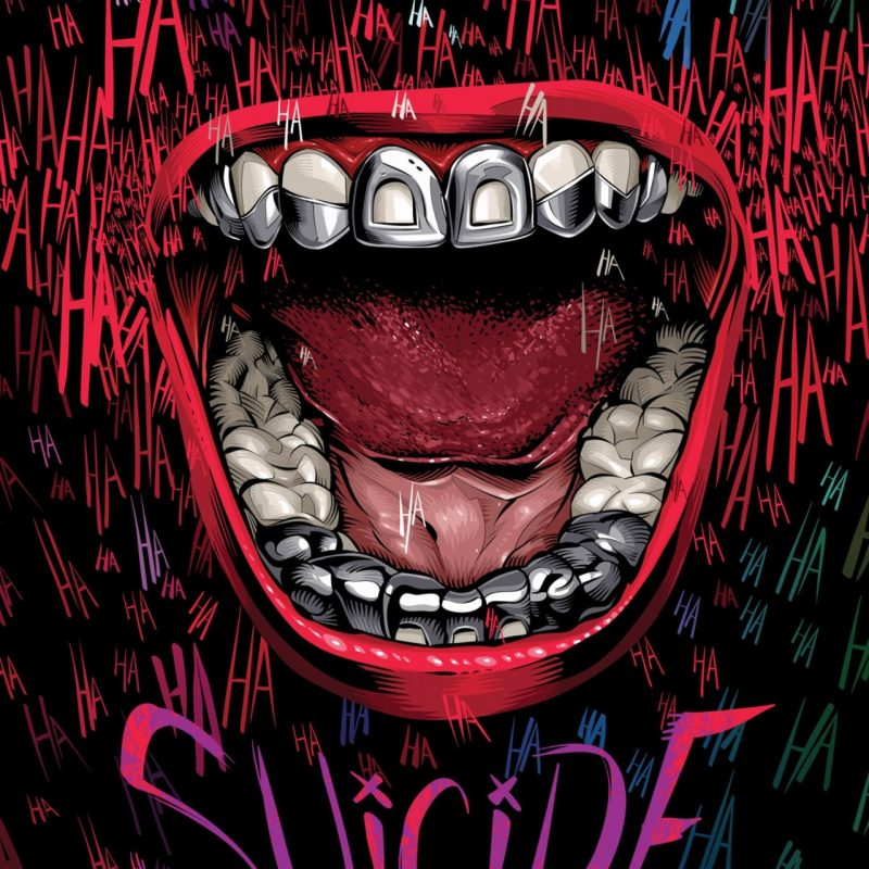 10 Top Suicide Squad Iphone Wallpaper FULL HD 1080p For PC Background 2018 free download 1280x2120 suicide squad typography iphone 6 hd 4k wallpapers 800x800