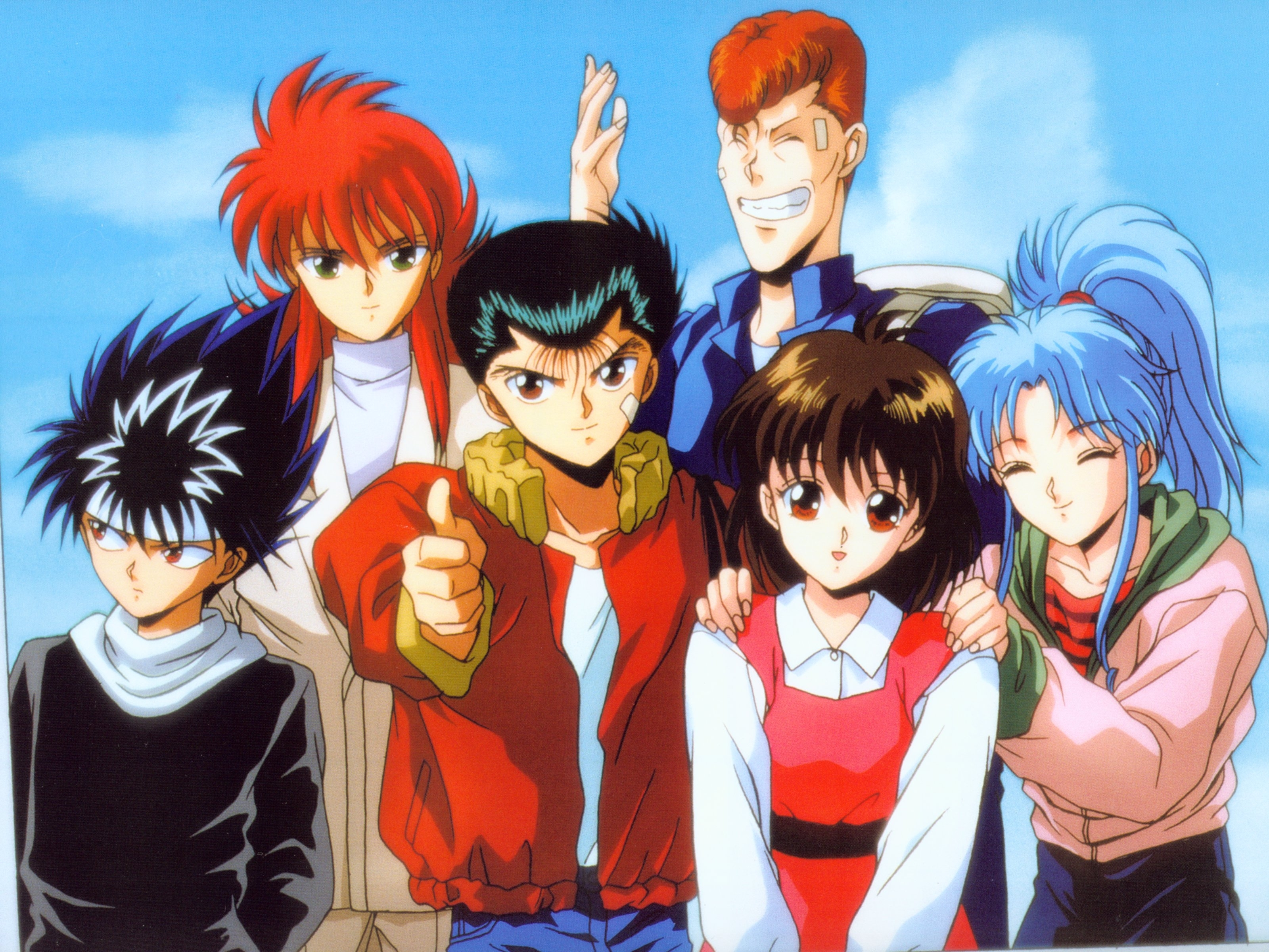 13 yu yu hakusho hd wallpapers | background images - wallpaper abyss