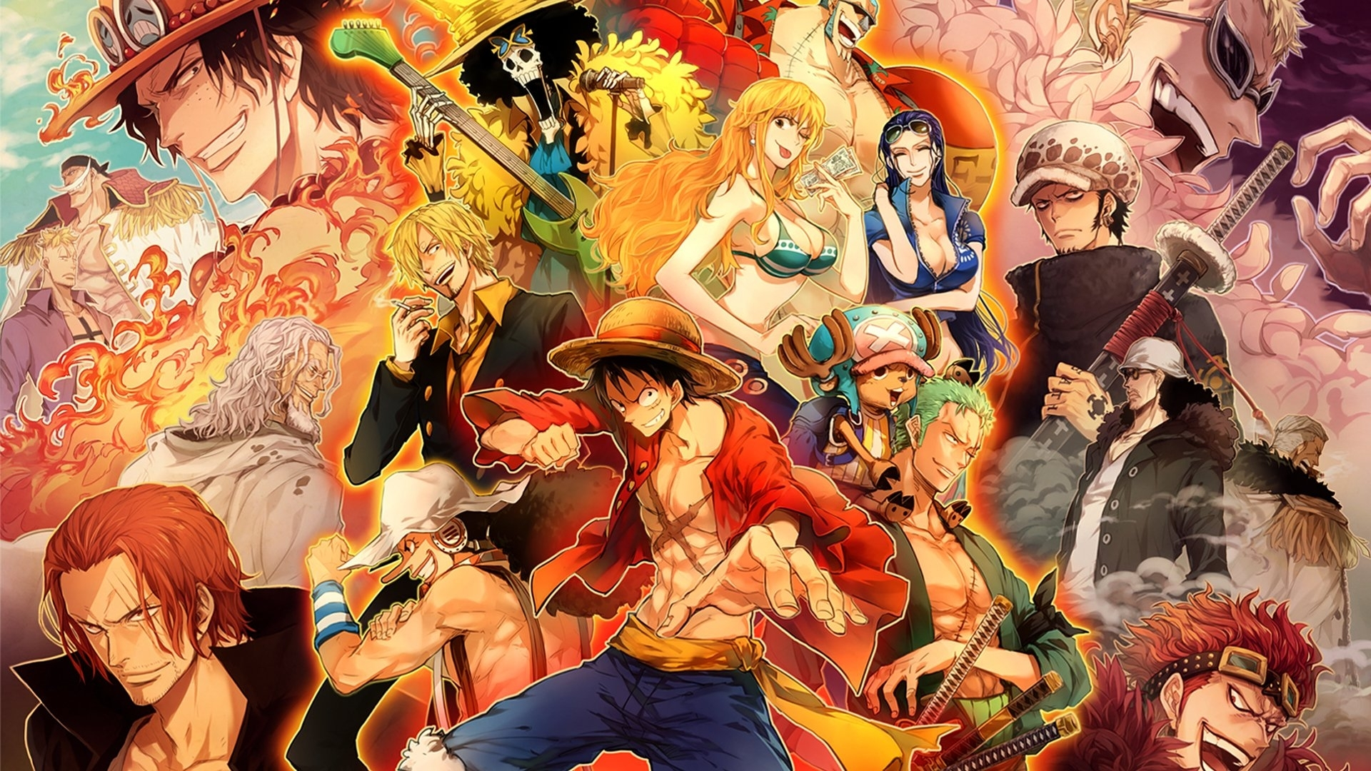1302 one piece hd wallpapers | background images - wallpaper abyss