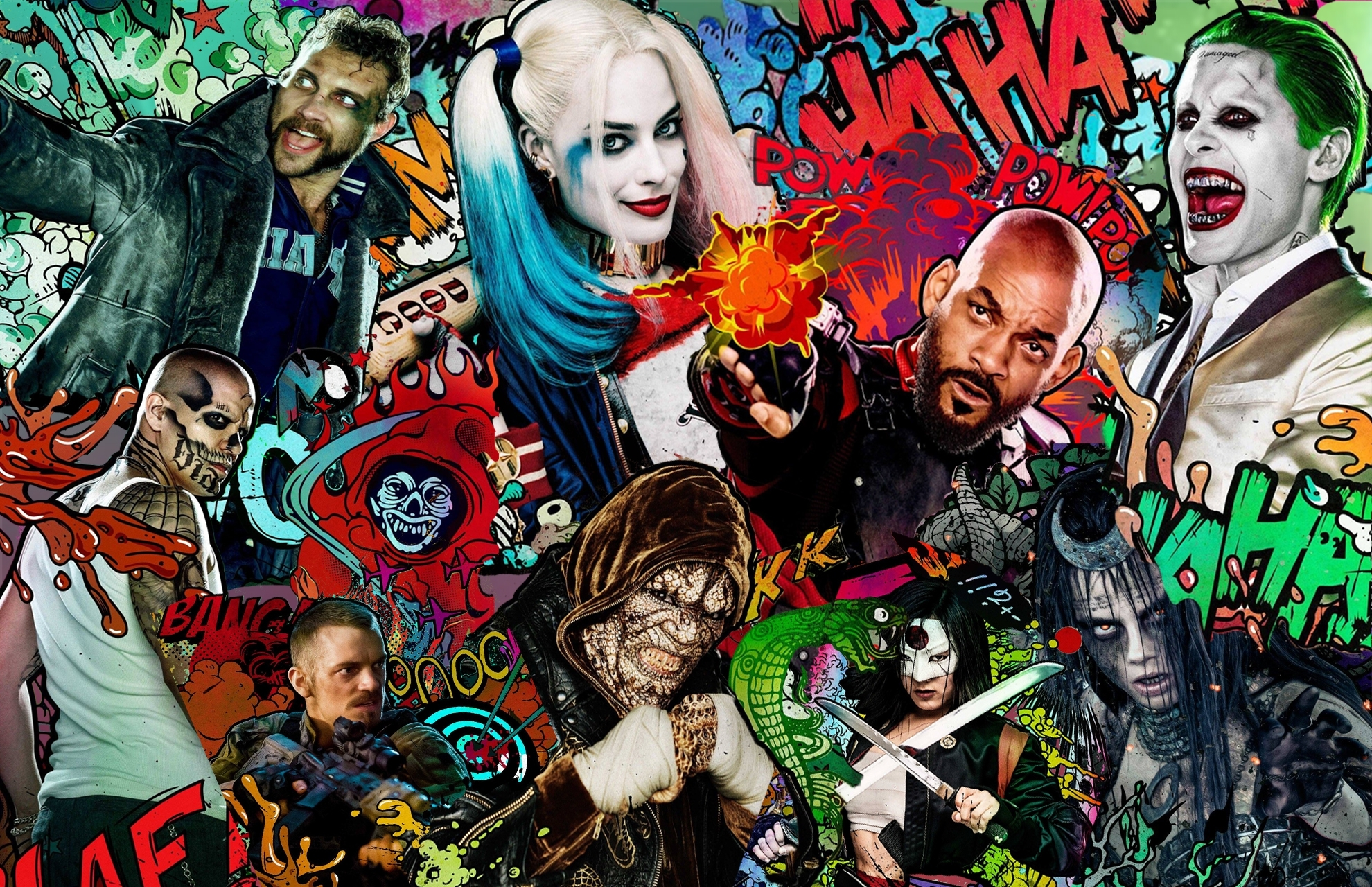 132 suicide squad hd wallpapers | background images - wallpaper abyss