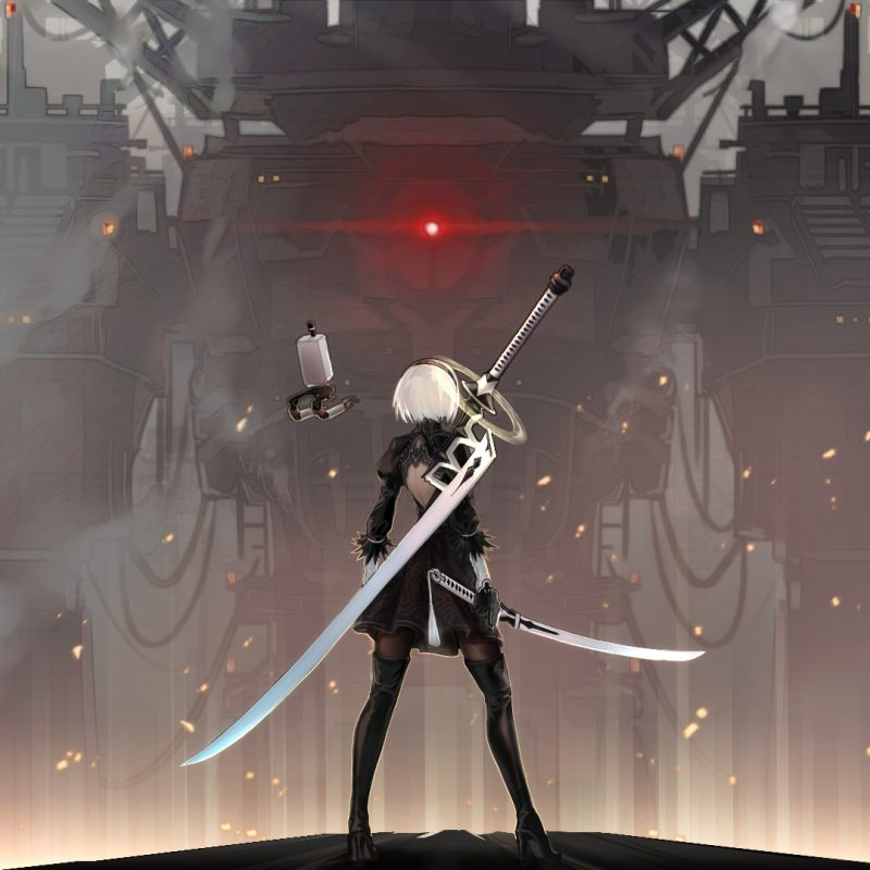 10 Most Popular Nier Automata 4K Wallpaper FULL HD 1920×1080 For PC Background 2018