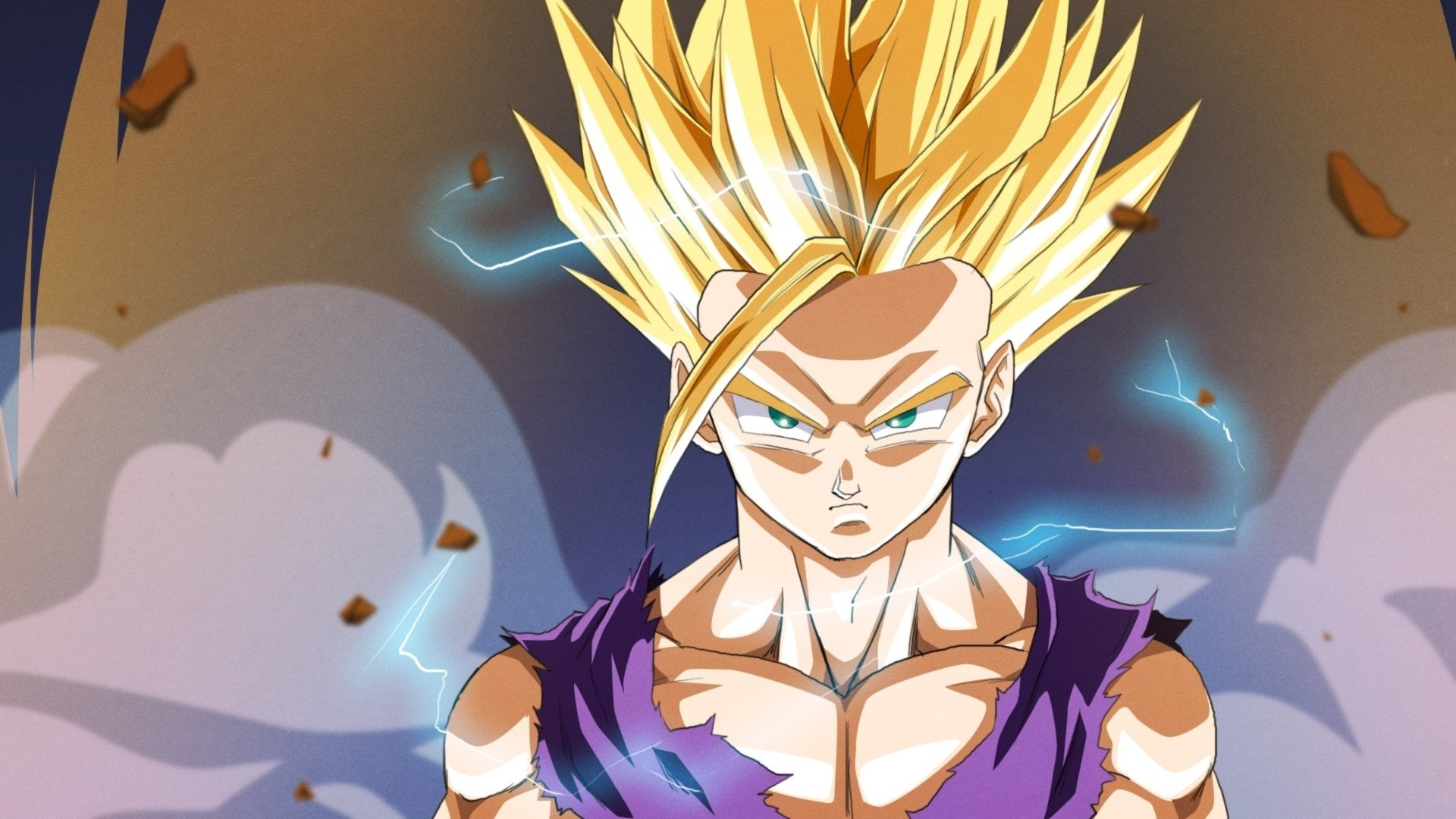 138 gohan (dragon ball) hd wallpapers | background images