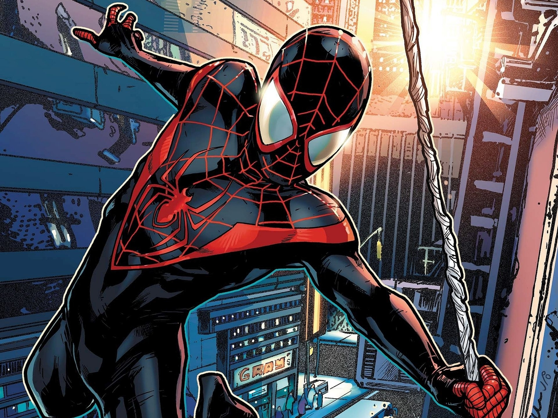 14 ultimate spider-man hd wallpapers | background images - wallpaper