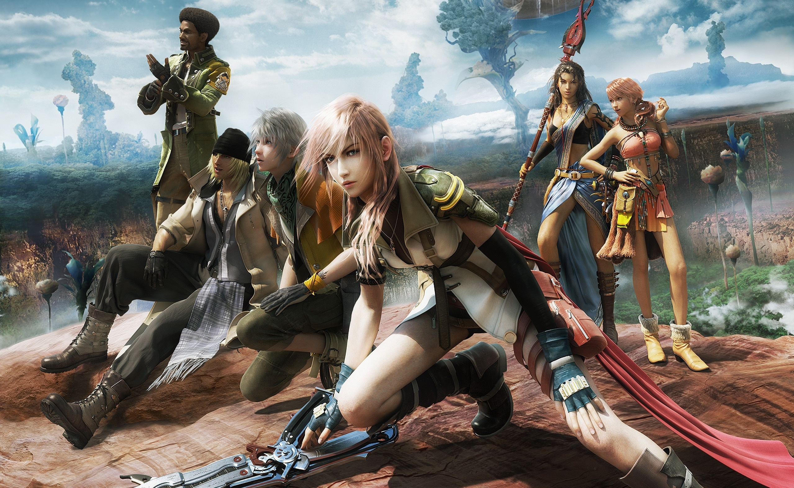 140 final fantasy xiii hd wallpapers | background images - wallpaper
