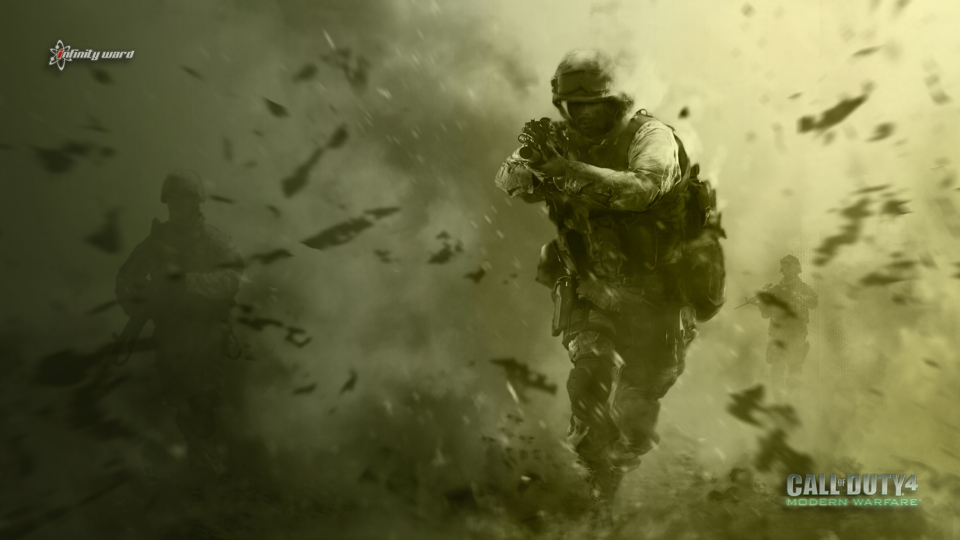 17 call of duty 4: modern warfare hd wallpapers | background images