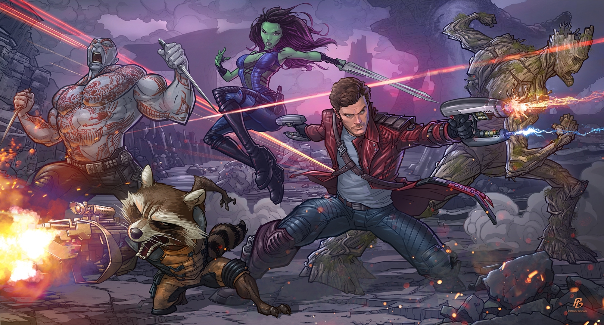 173 rocket raccoon hd wallpapers | background images - wallpaper abyss