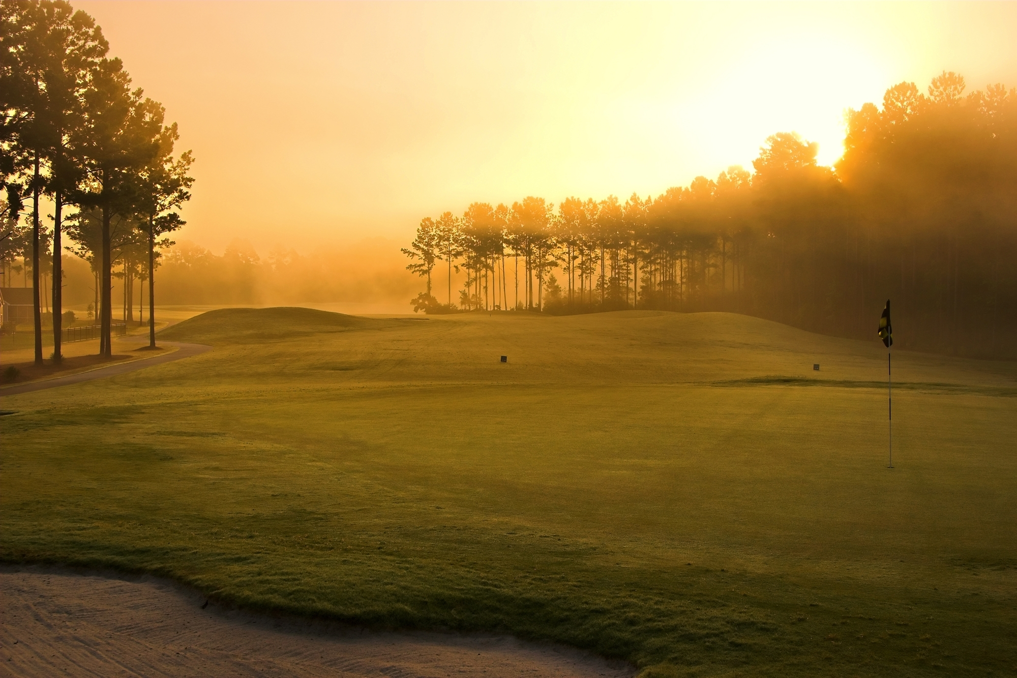 19 golf course hd wallpapers | background images - wallpaper abyss