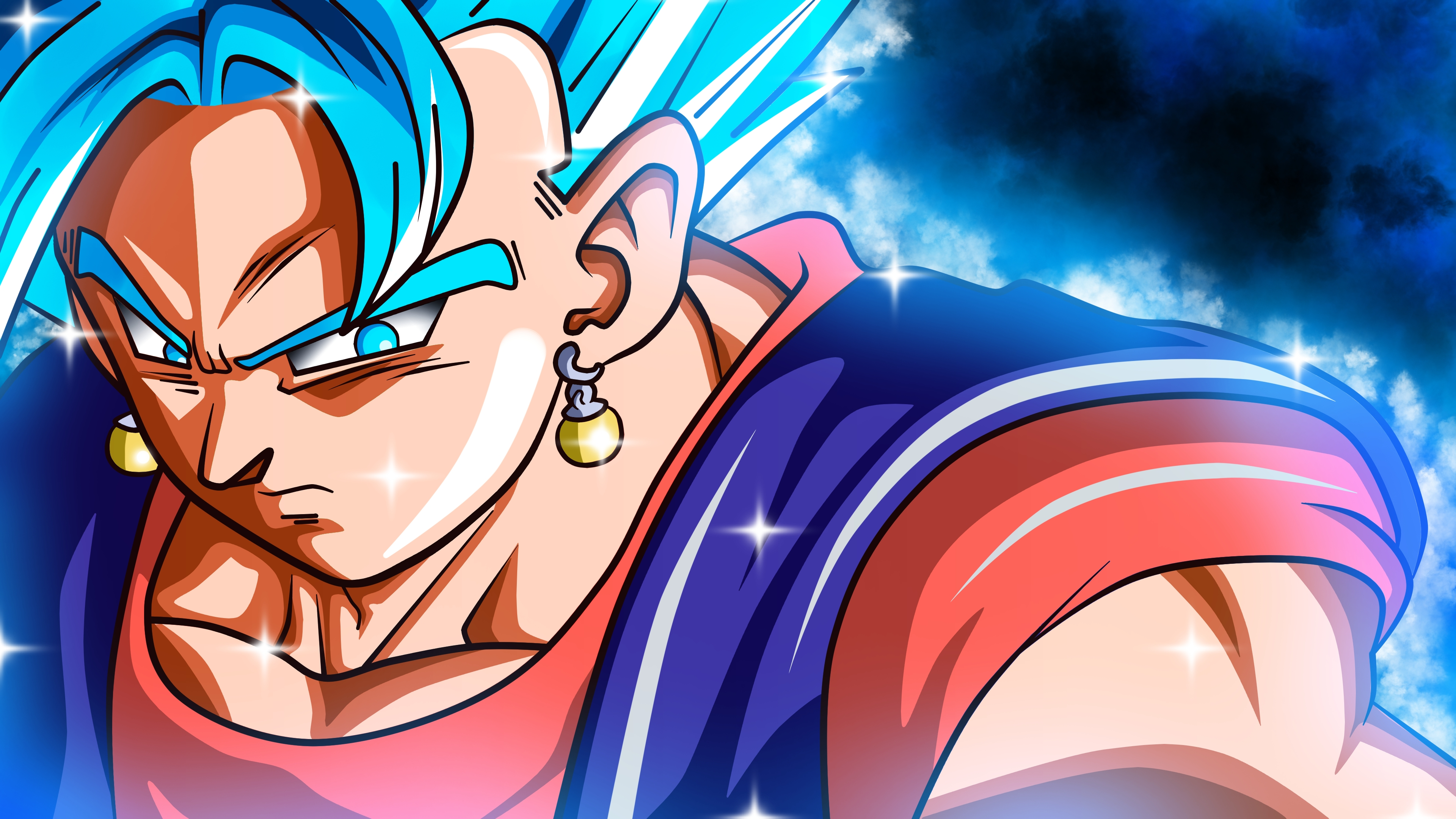 19 ssgss vegito hd wallpapers | background images - wallpaper abyss