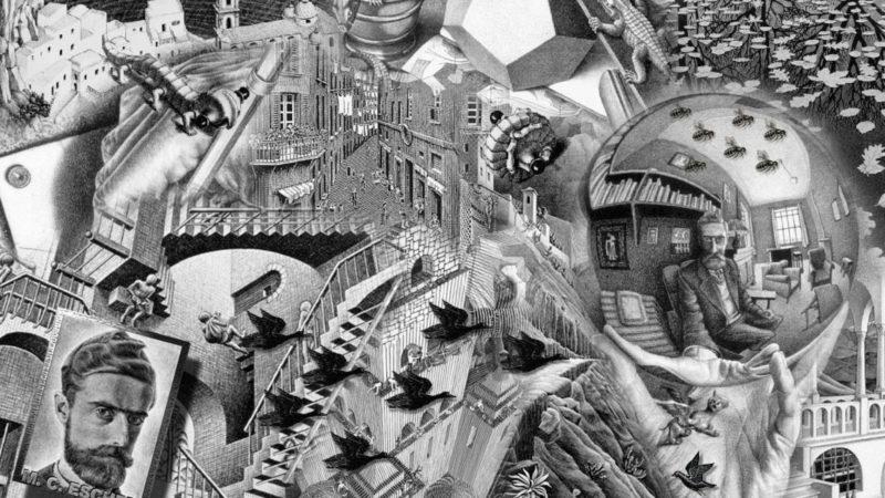 10 Most Popular Mc Escher Wallpaper 1920X1080 FULL HD 1080p For PC Desktop 2020 free download 1920x1080px escher wallpaper wallpapersafari 800x450