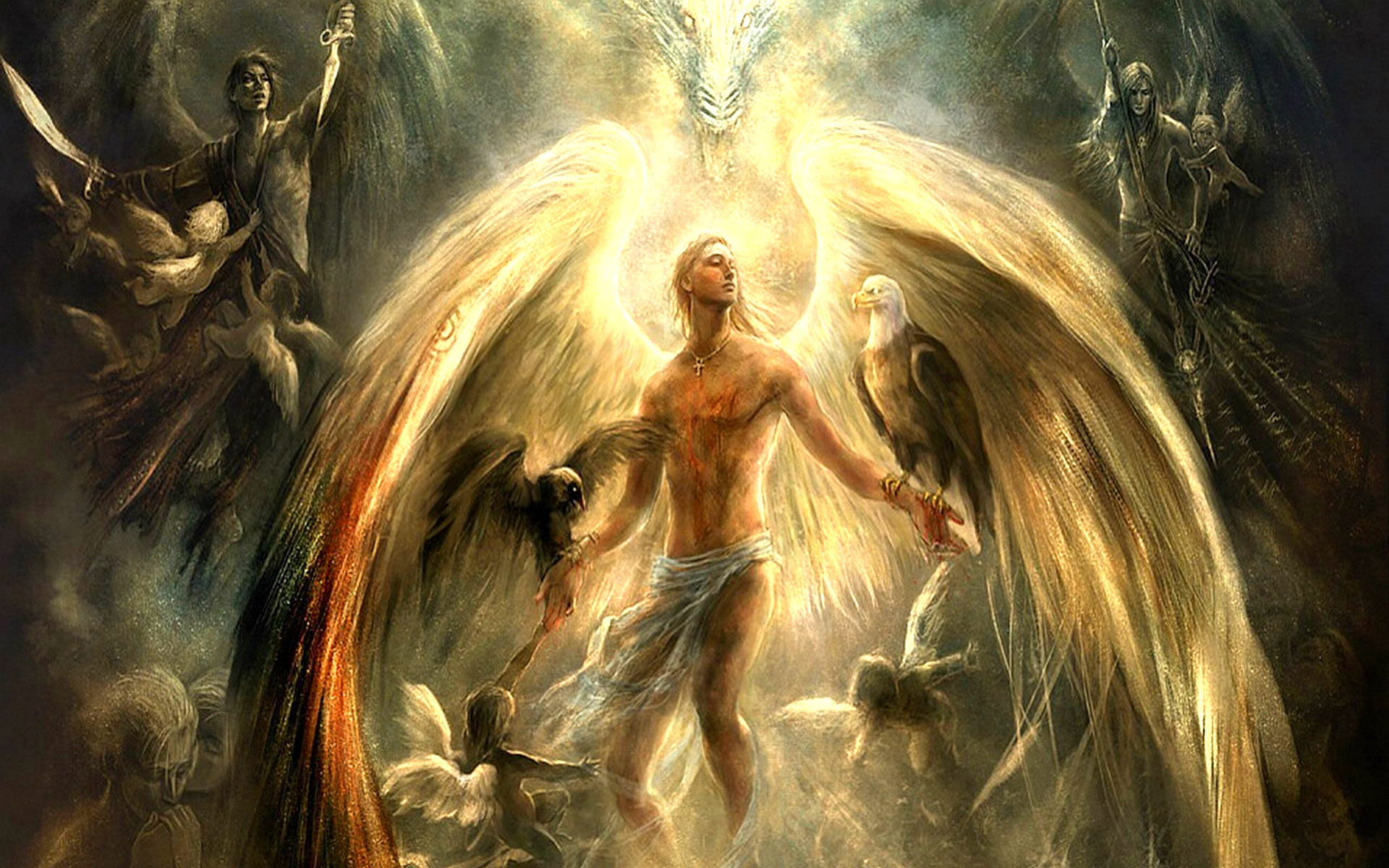 1920x1200px guardian angels wallpaper free - wallpapersafari