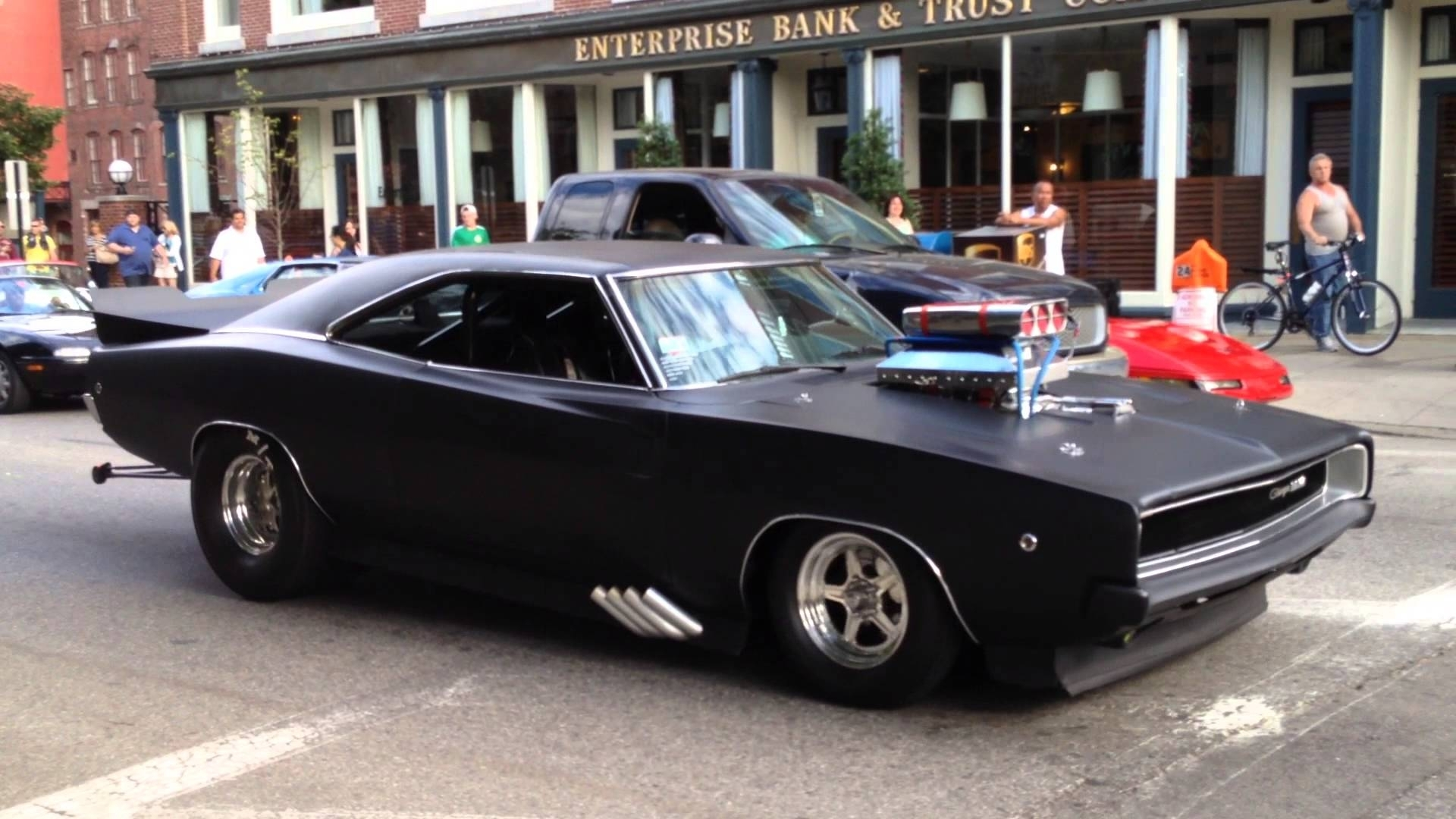 1968 dodge charger - american muscle car (pro street) - youtube
