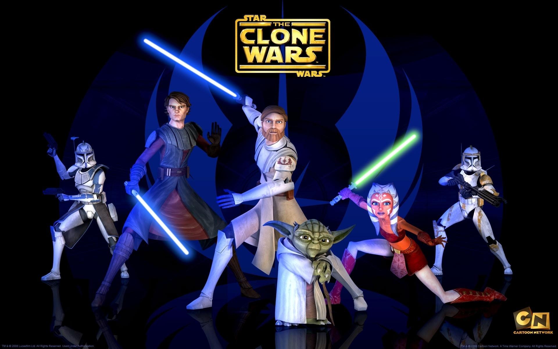 20 star wars: the clone wars fonds d'écran hd | arrière-plans