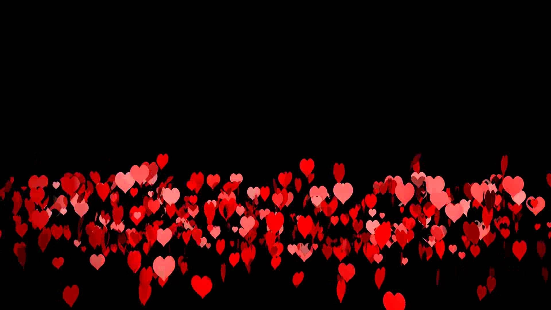 2000 hearts (black background) - youtube