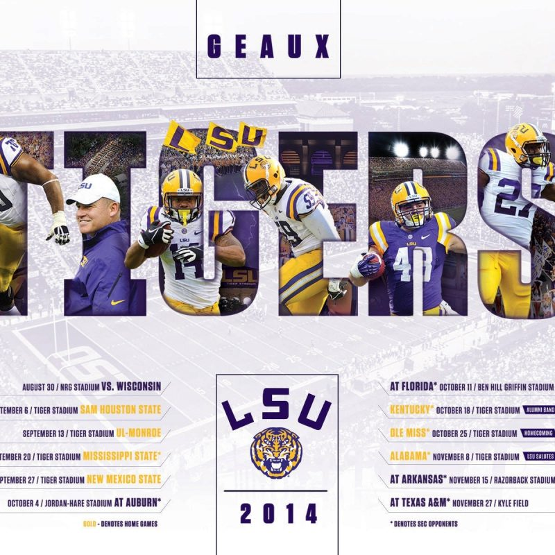 10 Top Lsu Football Schedule 2015 Wallpaper FULL HD 1080p For PC Desktop 2020 free download 2014 15 lsu athletics wallpapers lsusports the official web 800x800