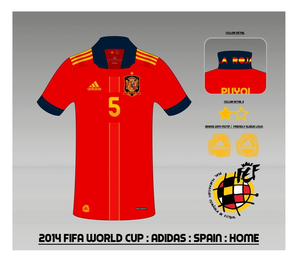 2014 spain national football team shirt : homemuums on deviantart