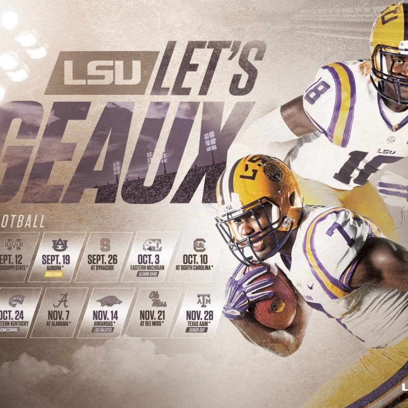 10 Top Lsu Football Schedule 2015 Wallpaper FULL HD 1080p For PC Desktop 2020 free download 2015 16 lsu athletics wallpapers lsusports the official web 2 800x800