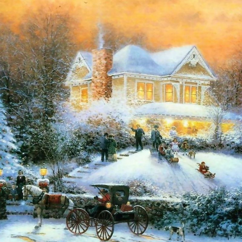 10 Best Free Thomas Kinkade Christmas Screensavers FULL HD 1920×1080 For PC Background 2021 free download 2015 free thomas kinkade christmas screensavers wallpapers images 800x800
