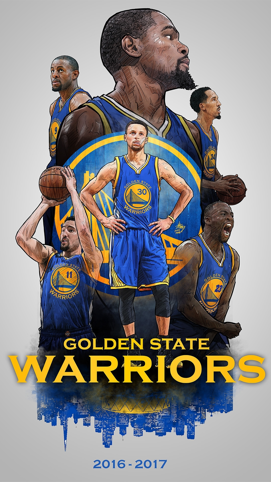 2016-2017 golden state warriors smartphone lock screen on behance
