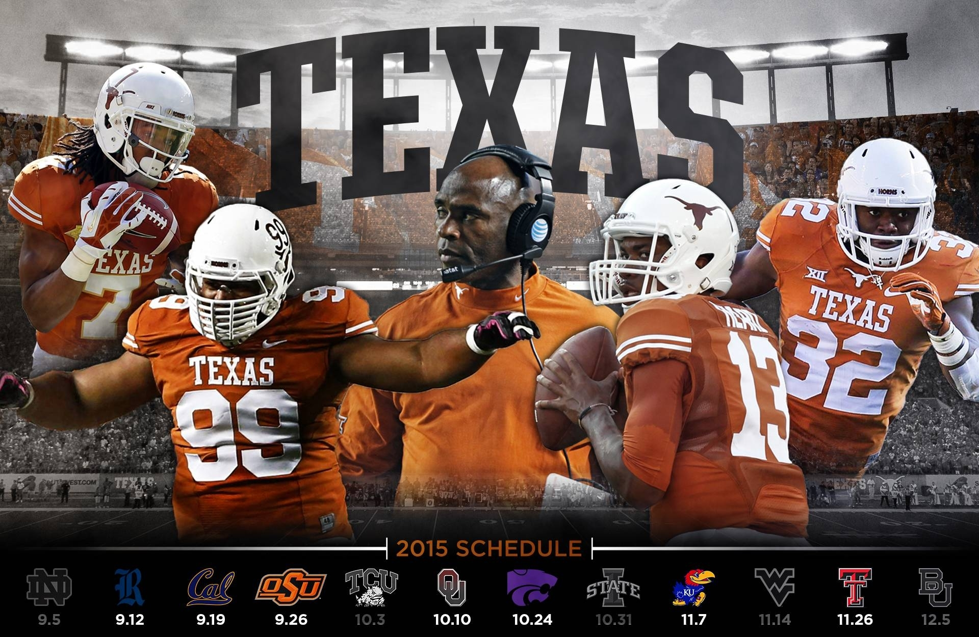 2016 texas longhorns football wallpapers - wallpaper cave