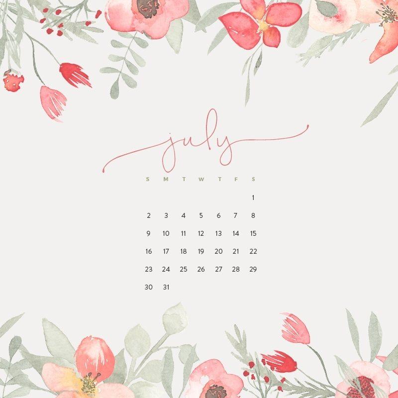 10 Best July 2017 Calendar Wallpaper FULL HD 1920×1080 For PC Desktop 2021 free download 2017 wallpaper calendar pish and posh designs 800x800