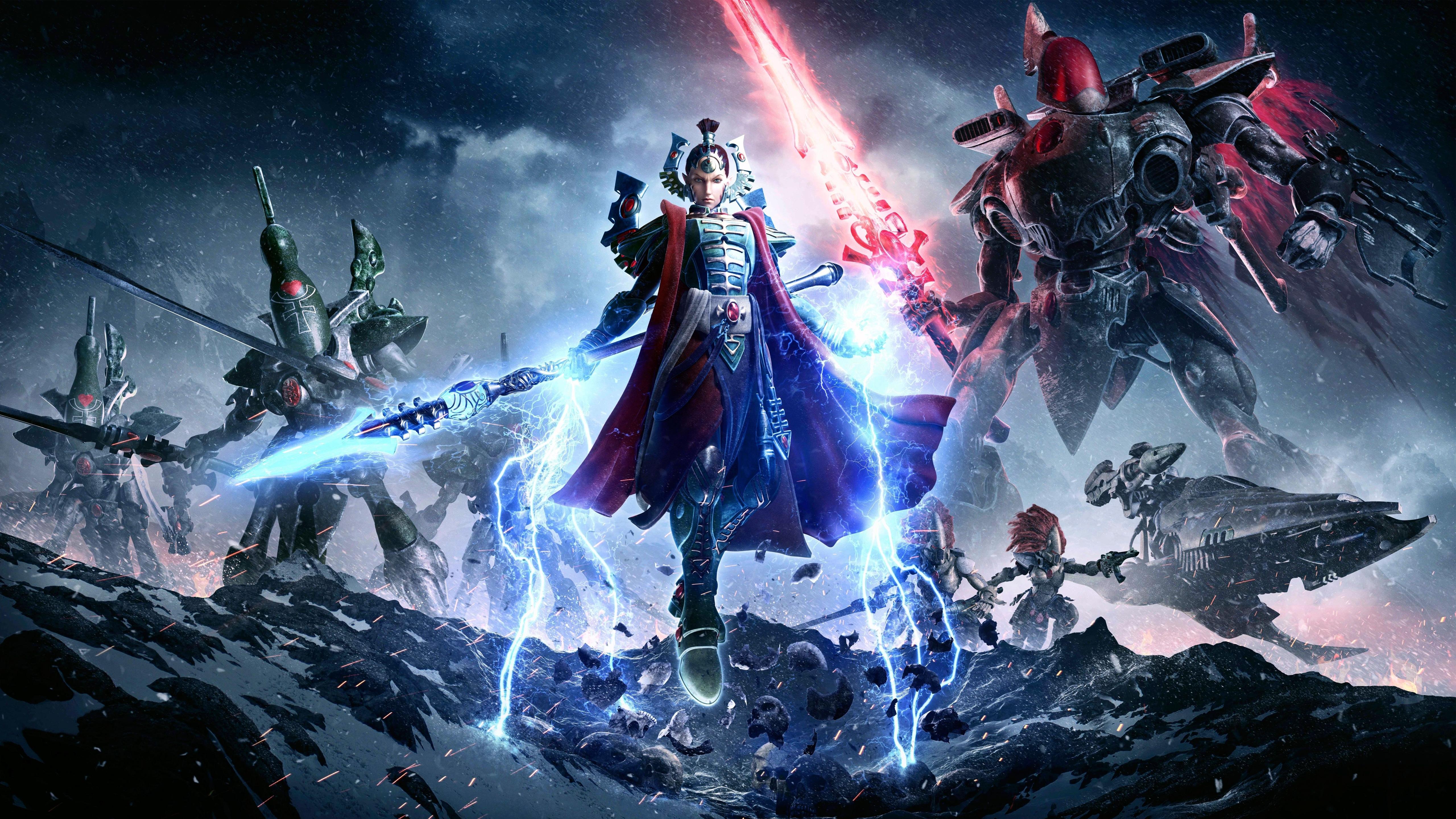 2017 warhammer 40k dawn of war 3 5k wallpapers   hd wallpapers   id