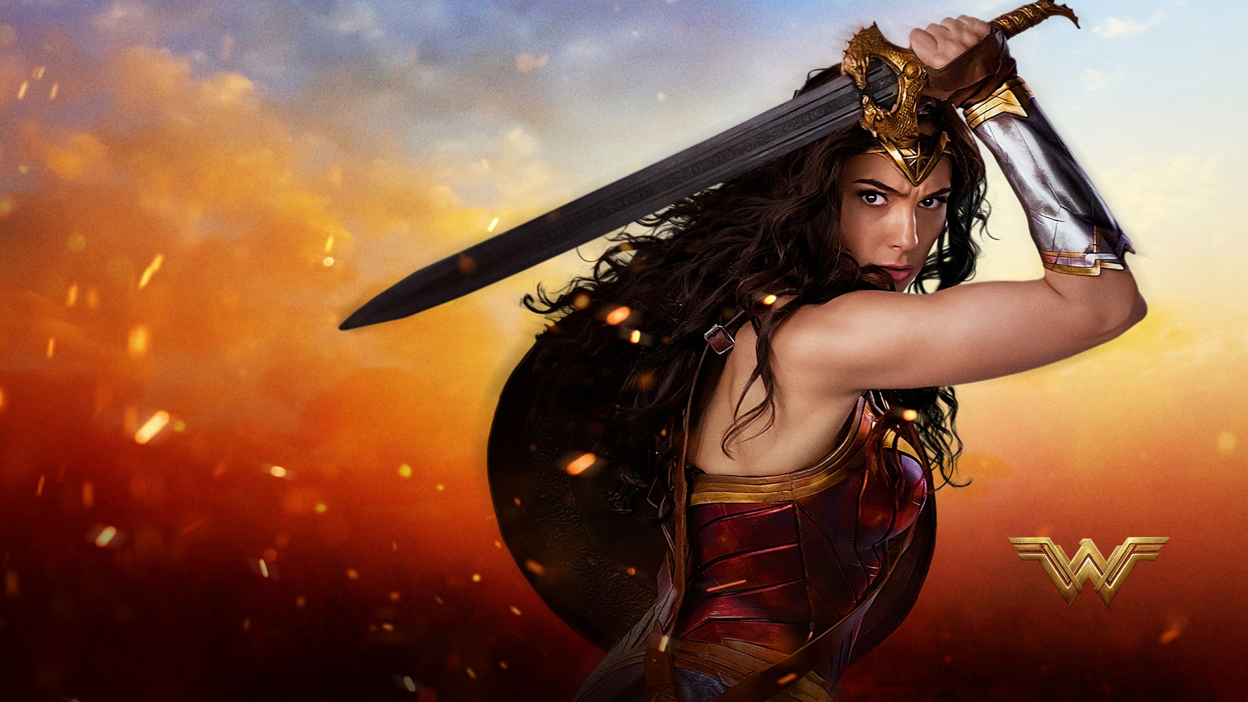 2017 wonder woman hd, hd movies, 4k wallpapers, images, backgrounds