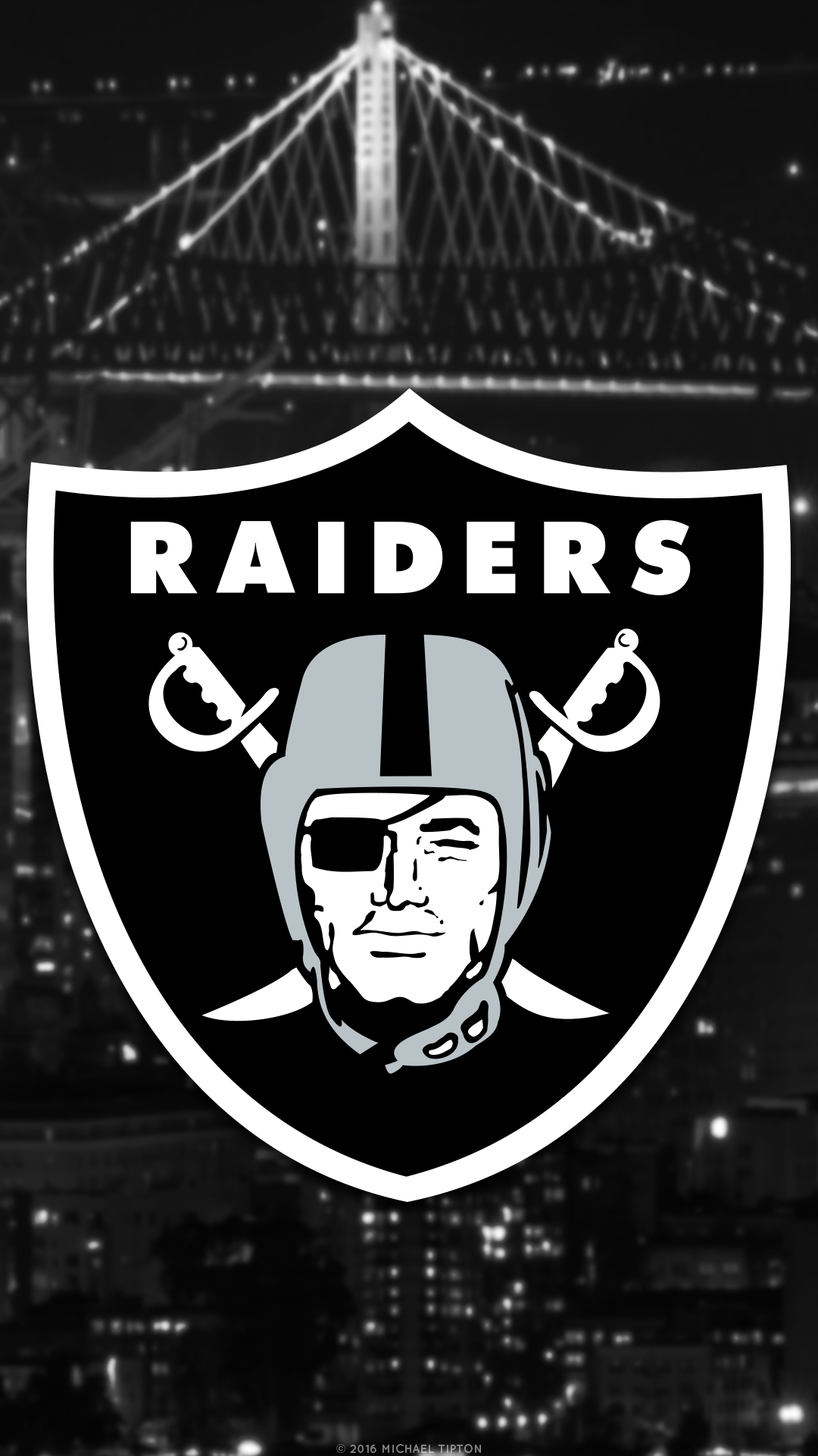 2018 oakland raiders wallpapers - pc |iphone| android