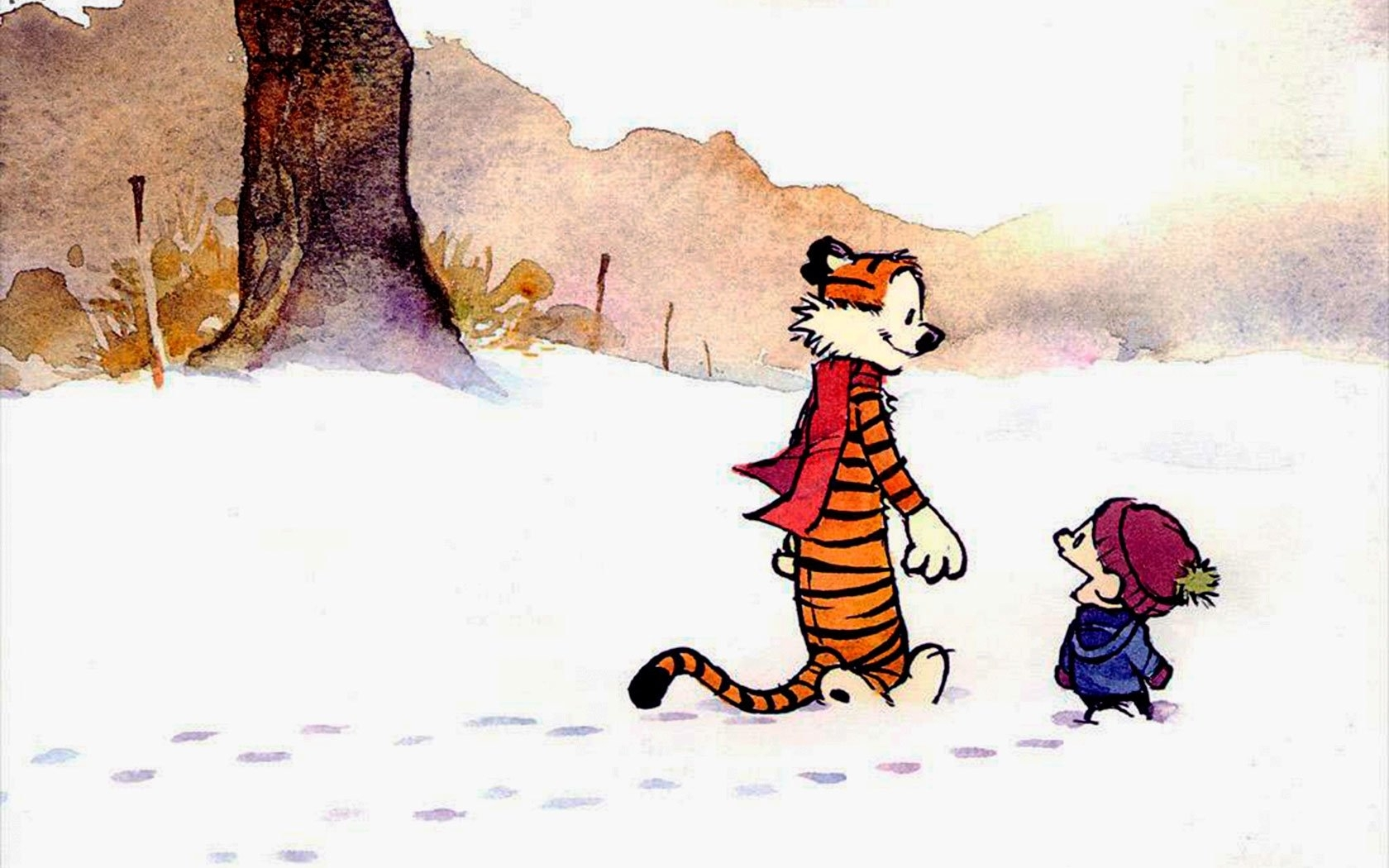 224 calvin & hobbes hd wallpapers | background images - wallpaper abyss