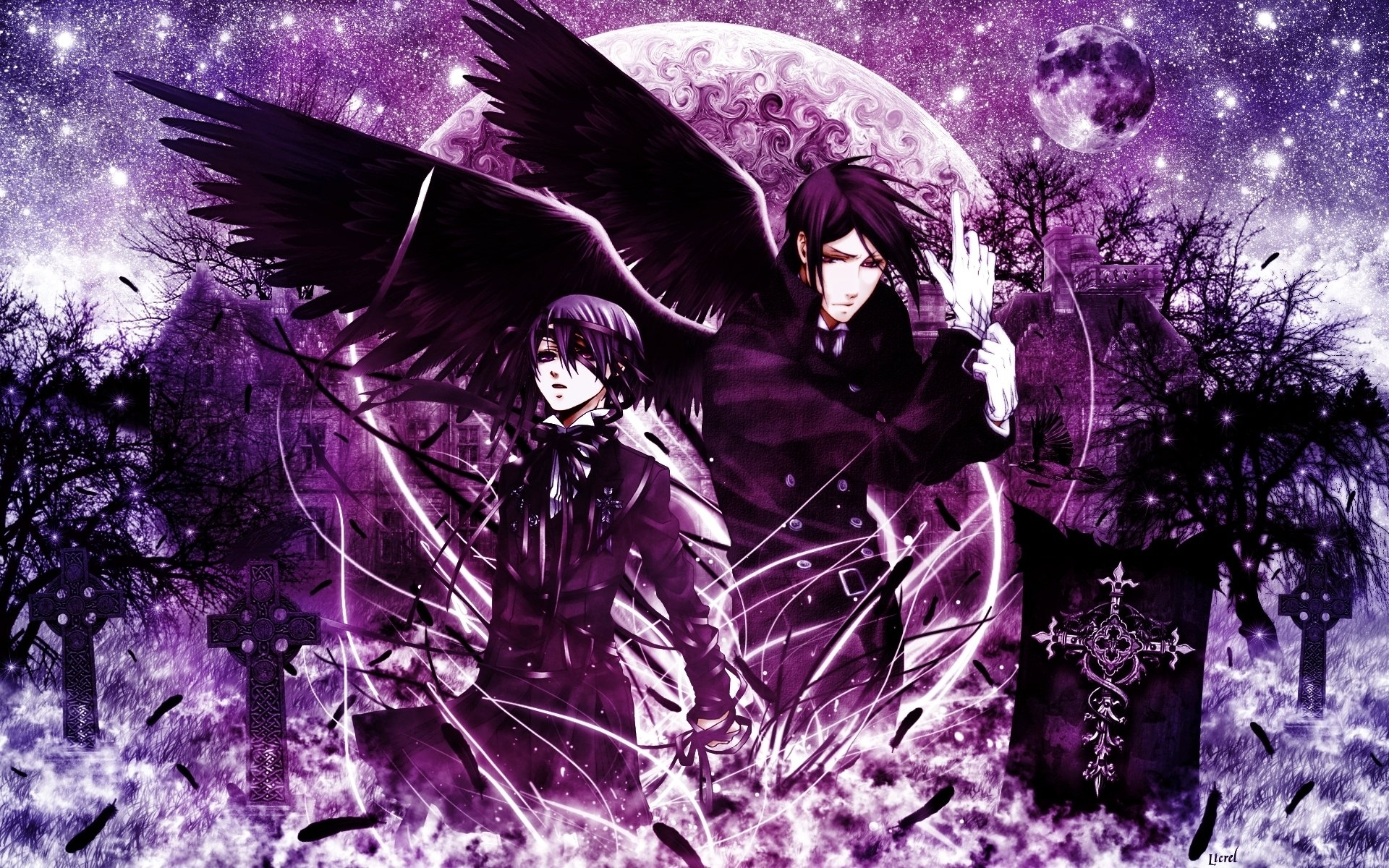 230 black butler hd wallpapers | background images - wallpaper abyss