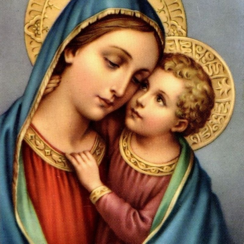 10 Top Mary And Jesus Images FULL HD 1920×1080 For PC Desktop 2018 free download 237 best jesus and mary images on pinterest blessed virgin mary 800x800