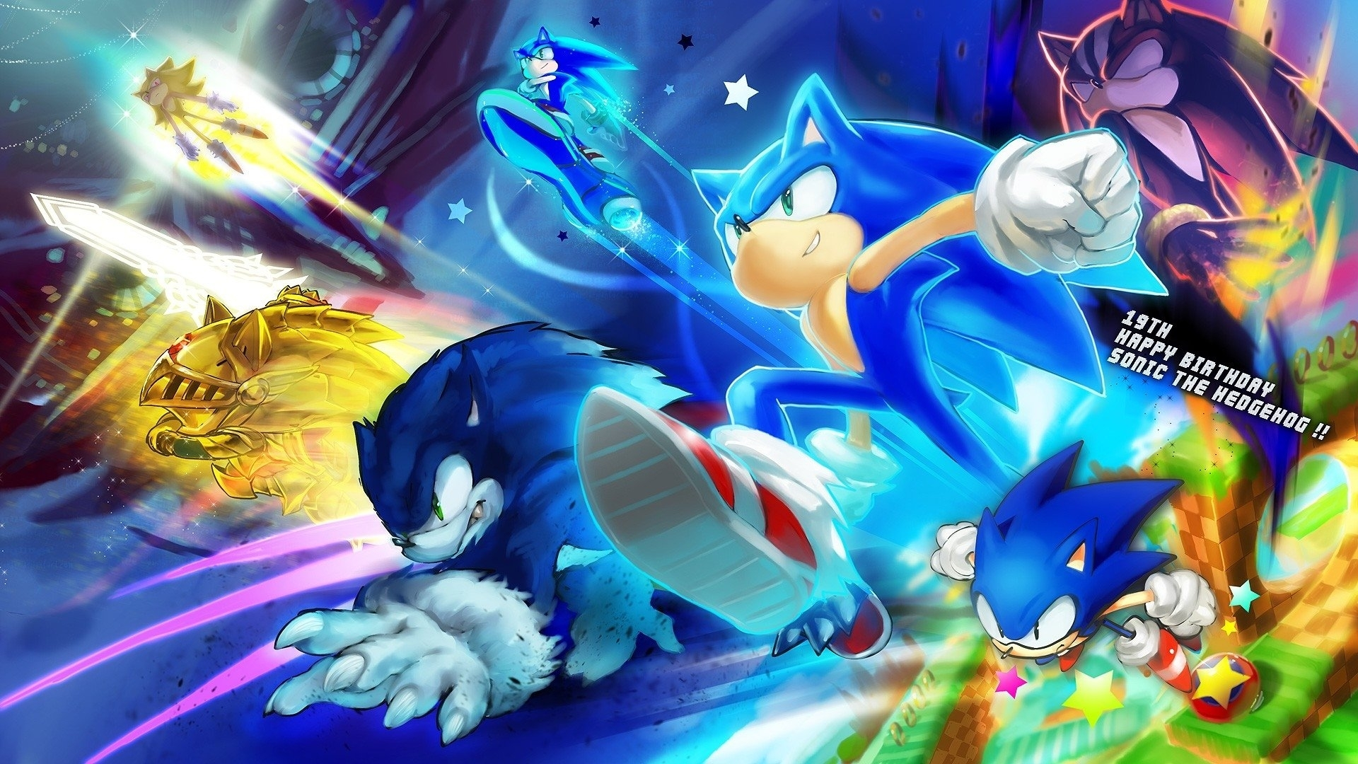 248 sonic the hedgehog hd wallpapers | background images - wallpaper
