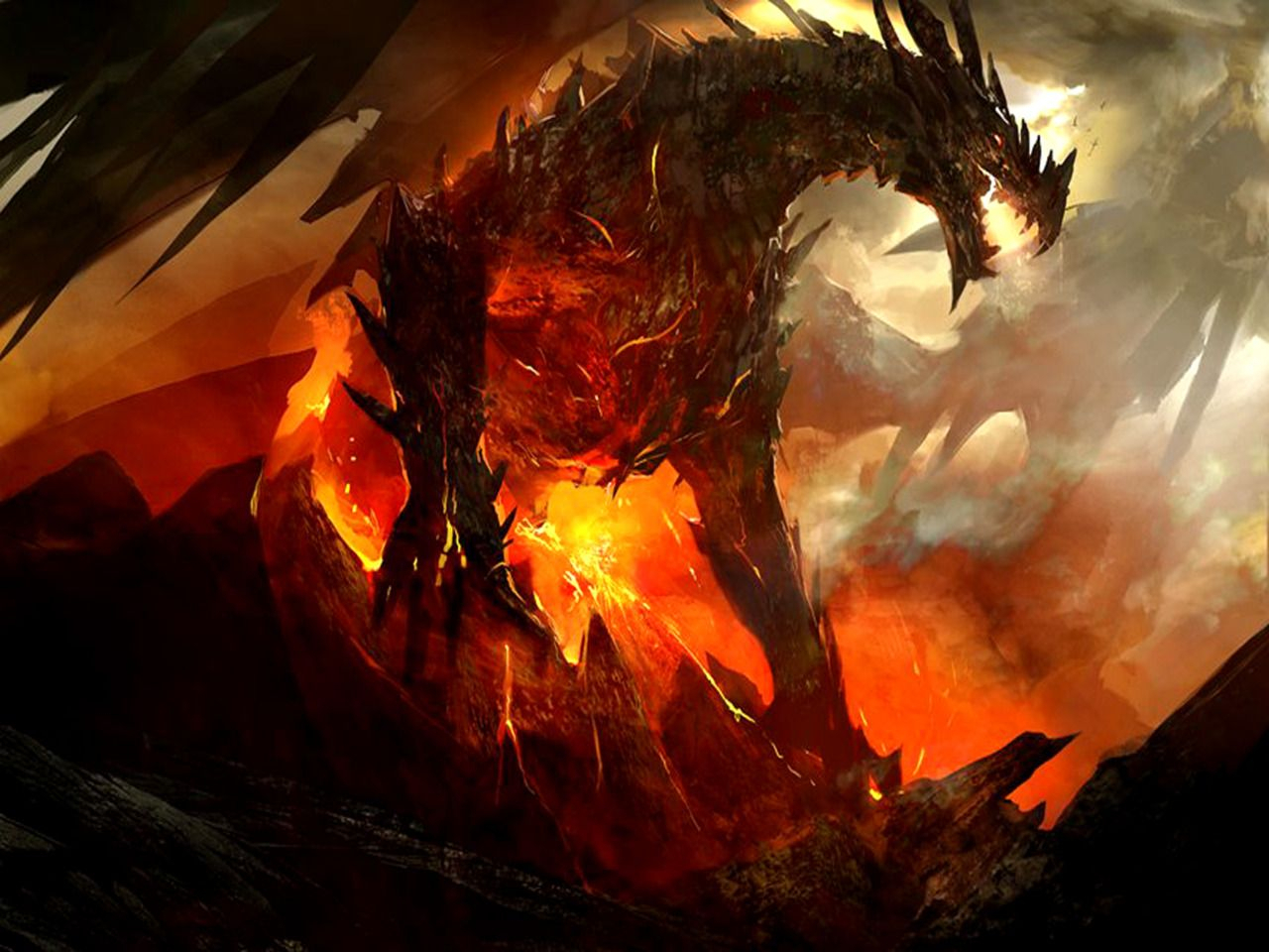 25 best epic dragon art picture gallery | dragons | dragon art