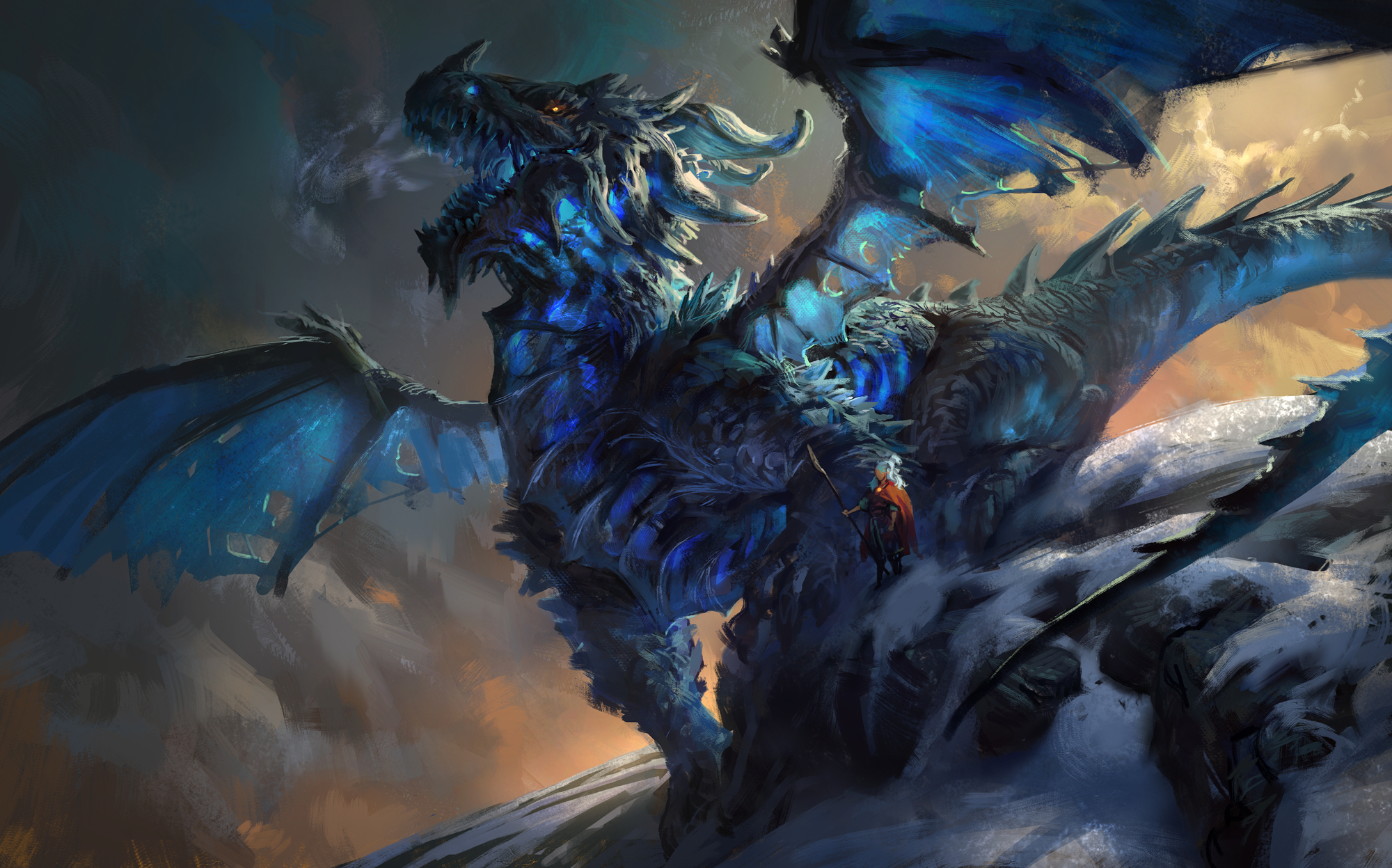 25 best epic dragon art picture gallery | other | dragon art, ice