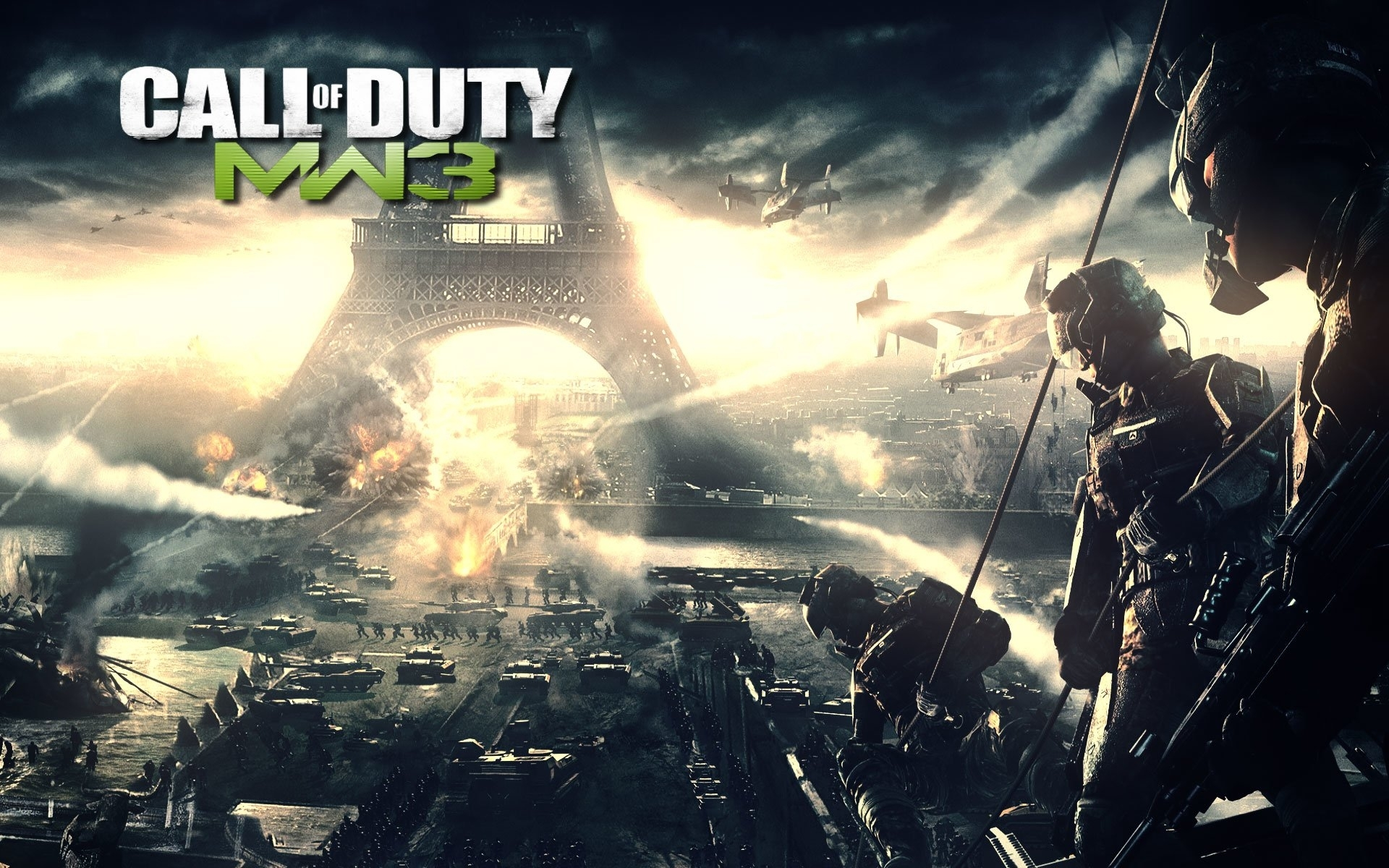 25 call of duty: modern warfare 3 hd wallpapers | background images