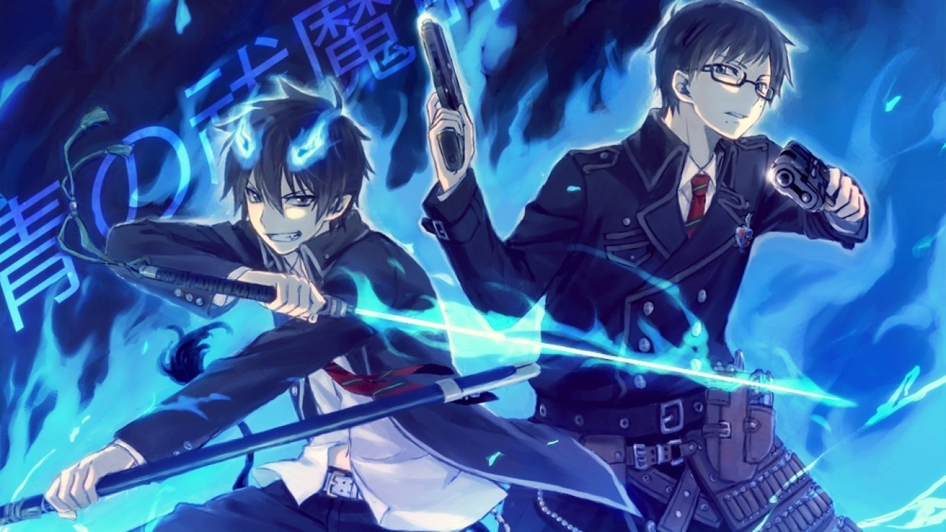 258 blue exorcist hd wallpapers | background images - wallpaper abyss